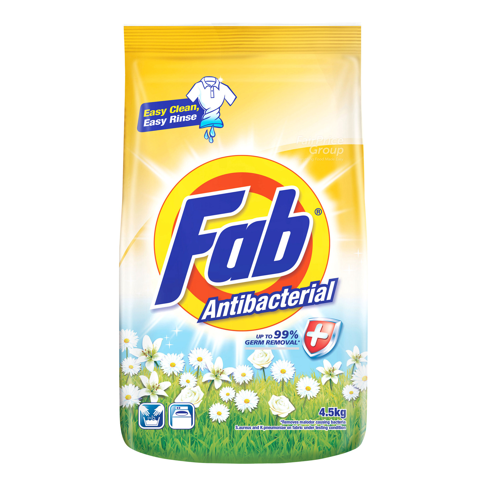 Fab Detergent Powder - Anti-Bacterial