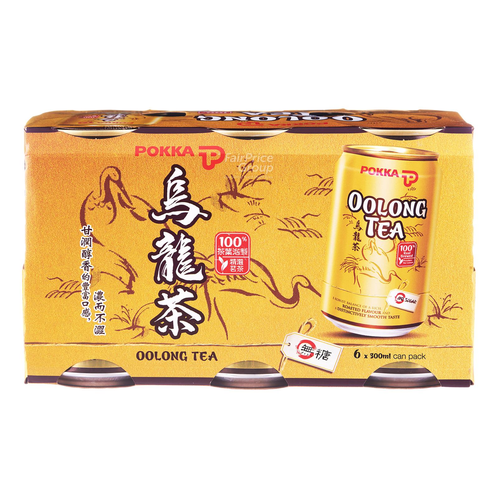 Pokka Can Drink - Oolong Tea (No Sugar Added)