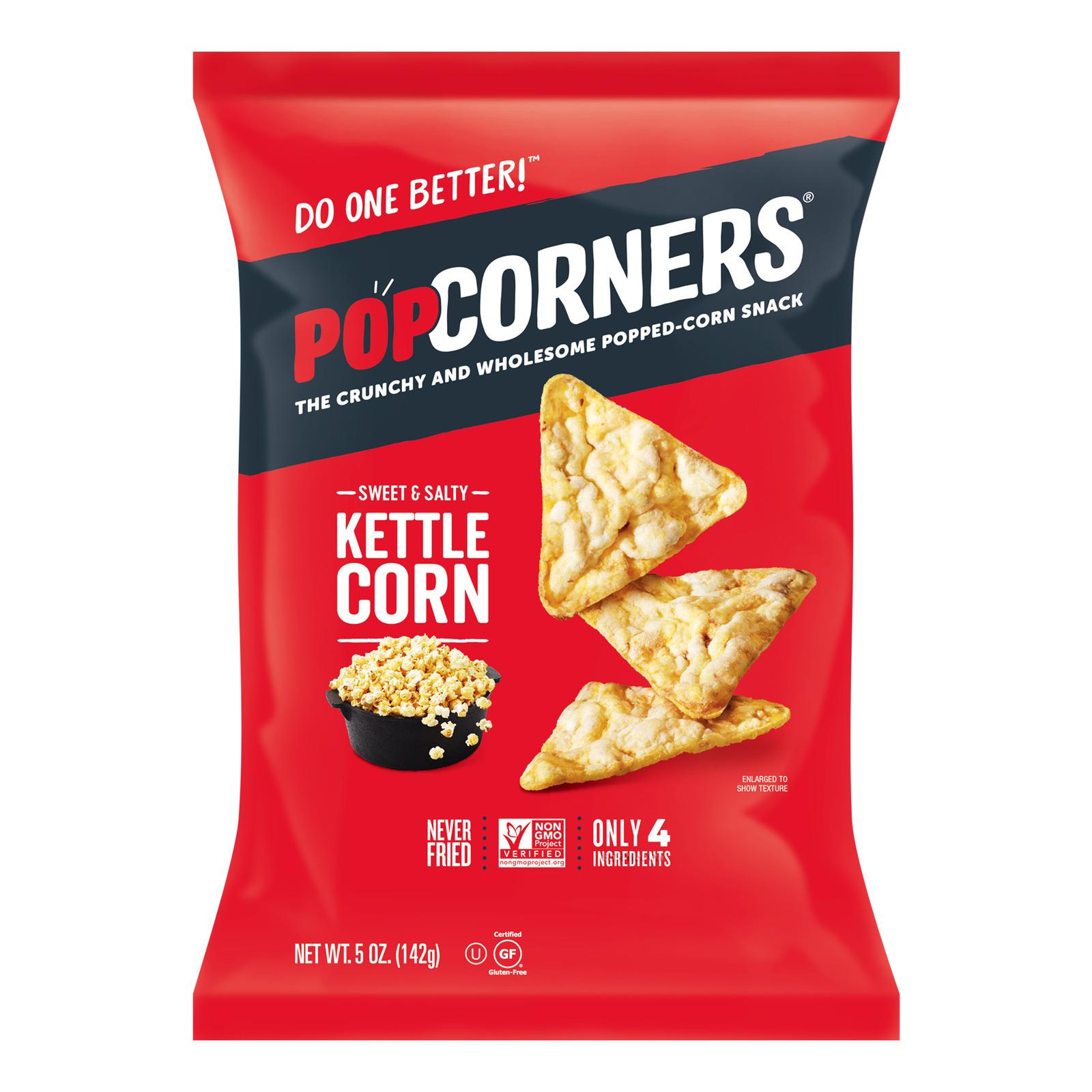 Popcorners Popped Corn Chips - Sweet & Salty
