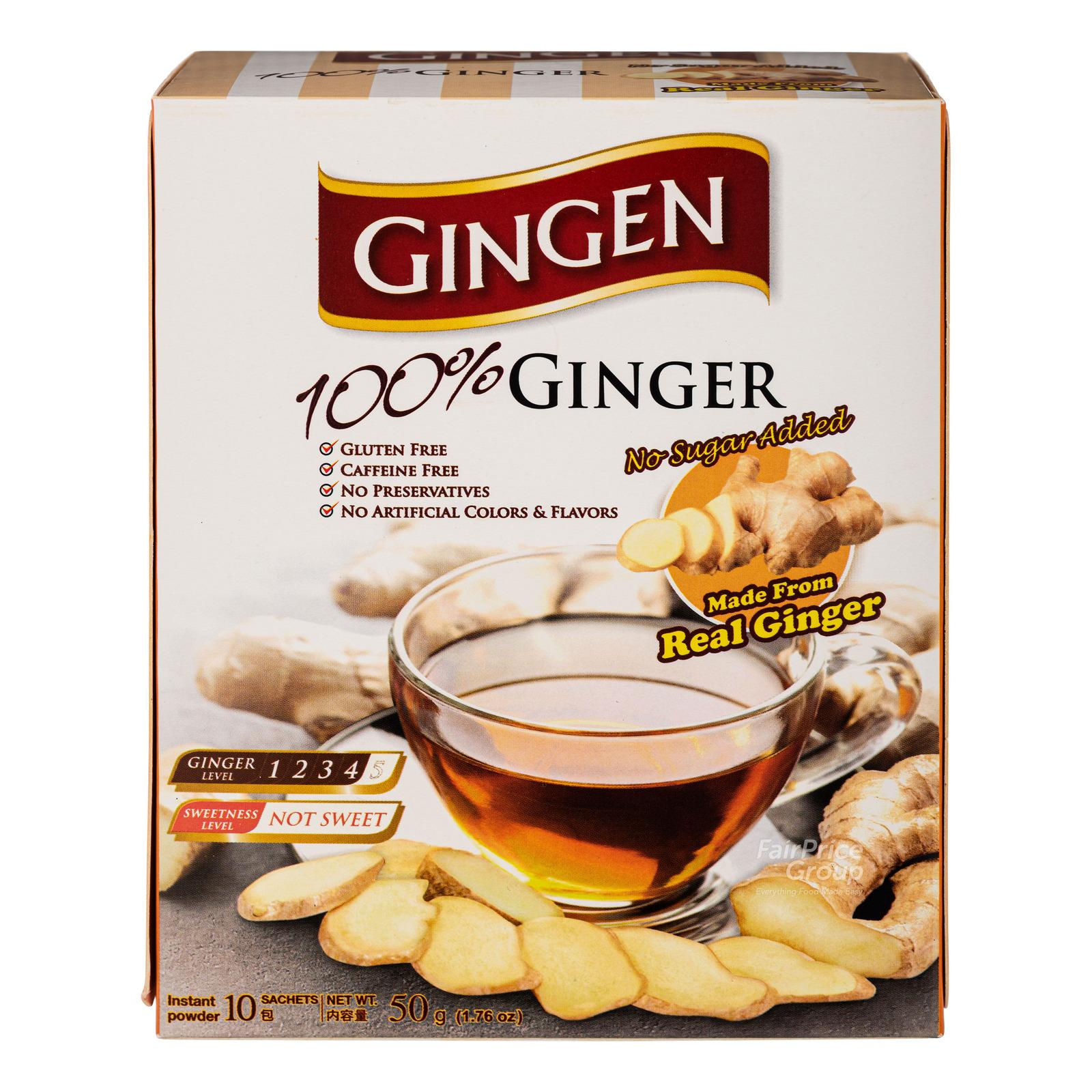 Gingen Instant Ginger Powder - Original (No Sugar)