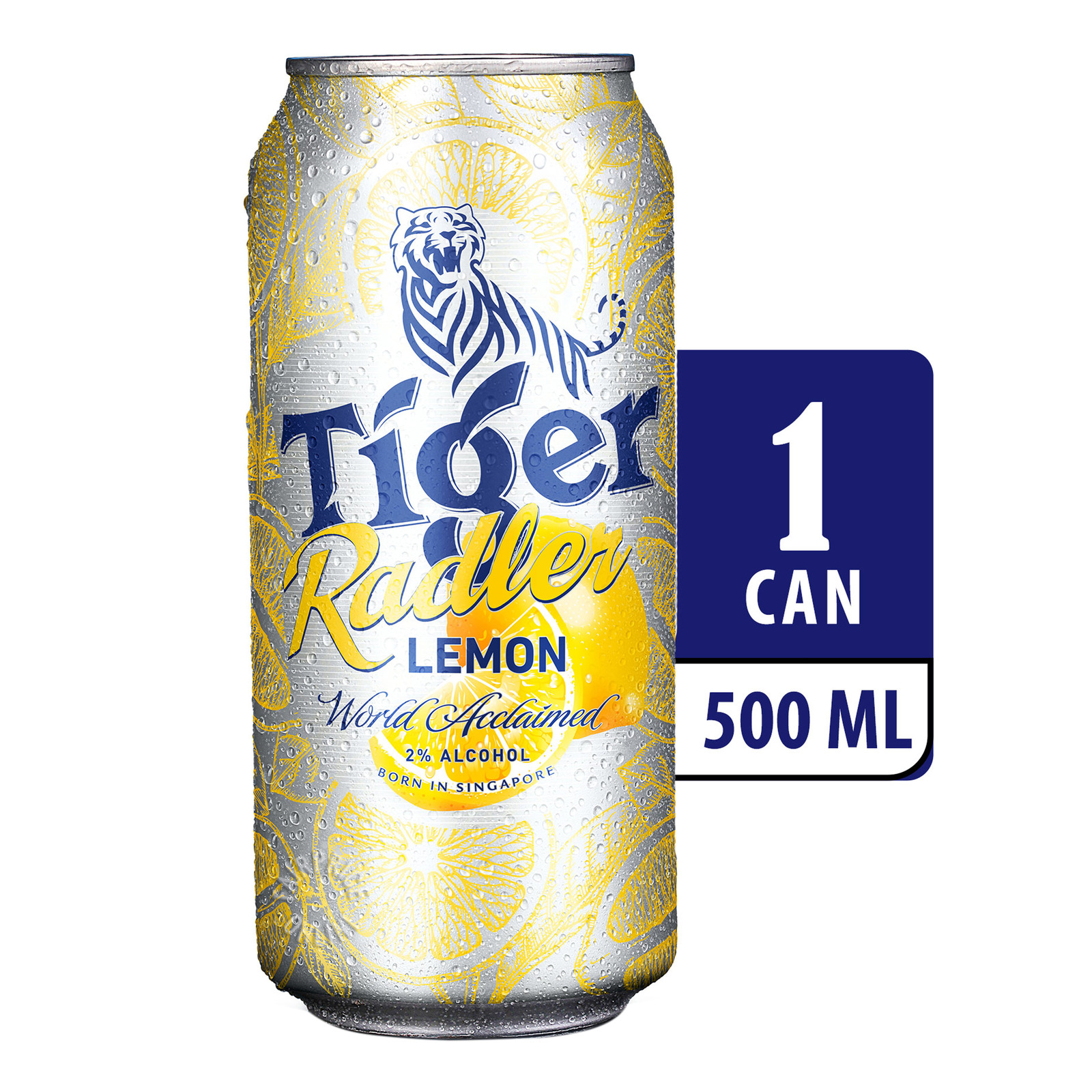 Tiger Radler Can Beer - Lemon