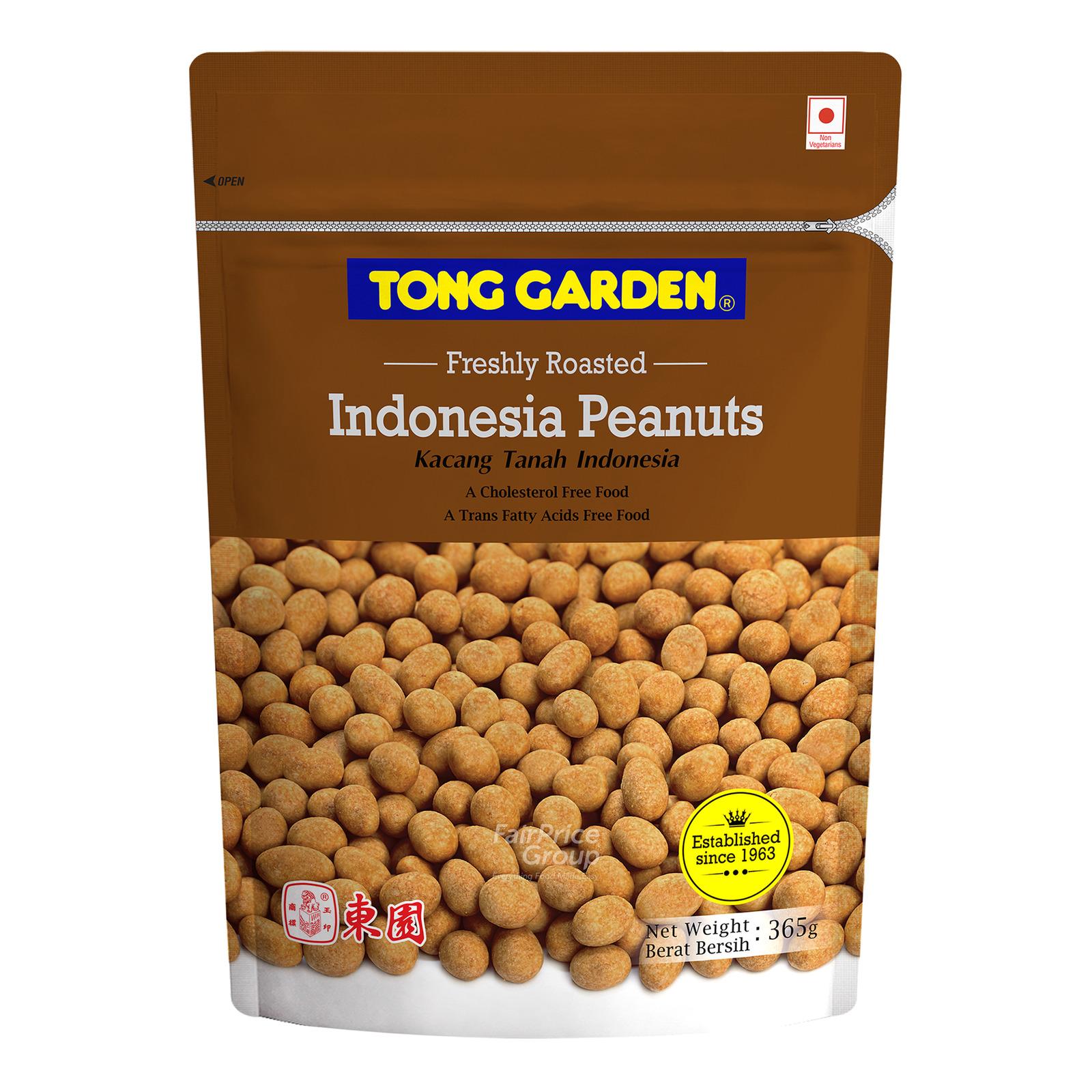 Tong Garden BBQ Coated Peanuts