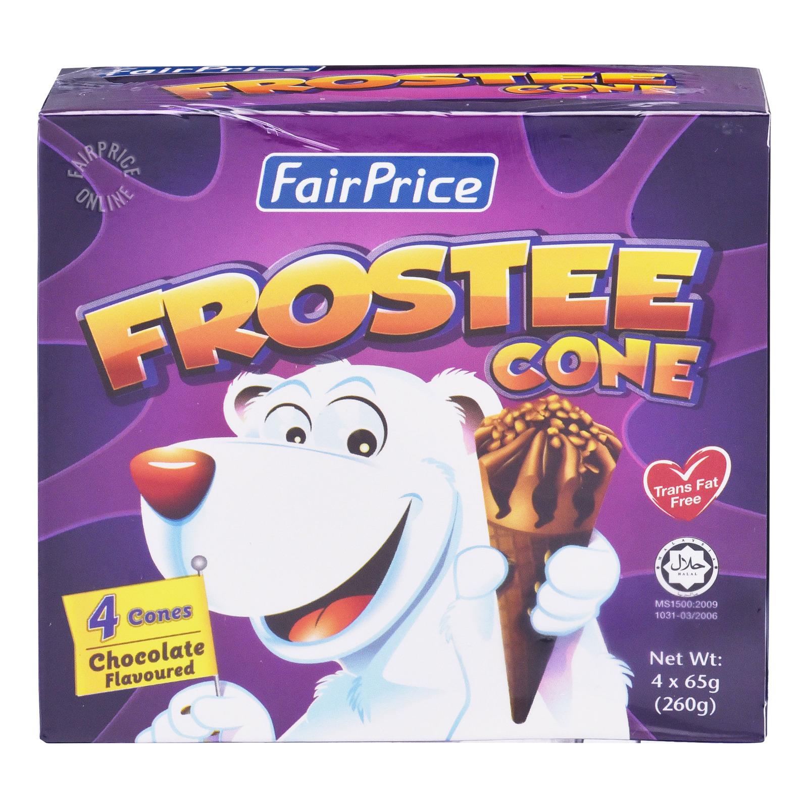 FairPrice Frostee Cone Ice Cream - Chocolate