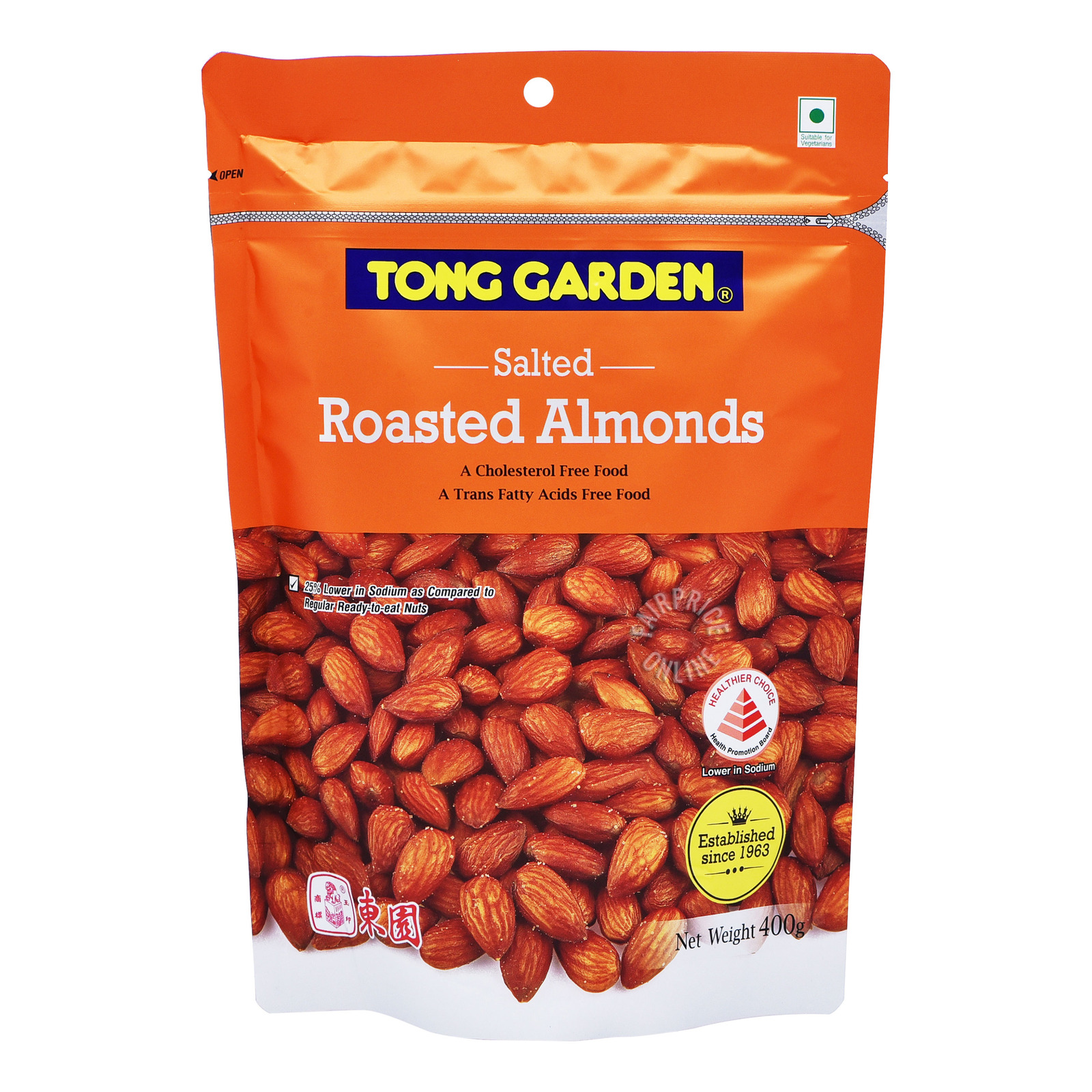 Tong Garden Roasted Salted Nuts - Almond