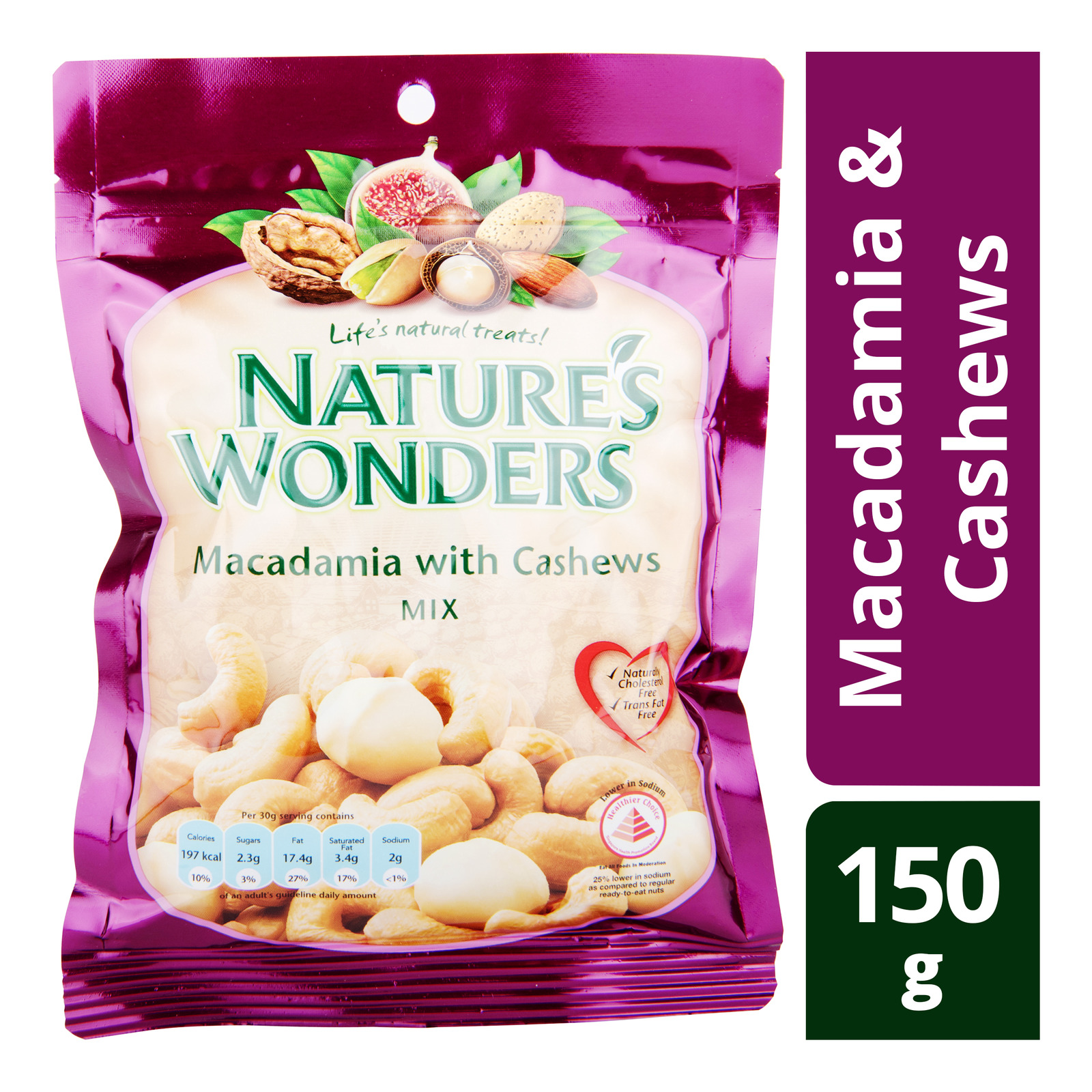 Nature's Wonders Nuts Mix - Macadamia & Cashews