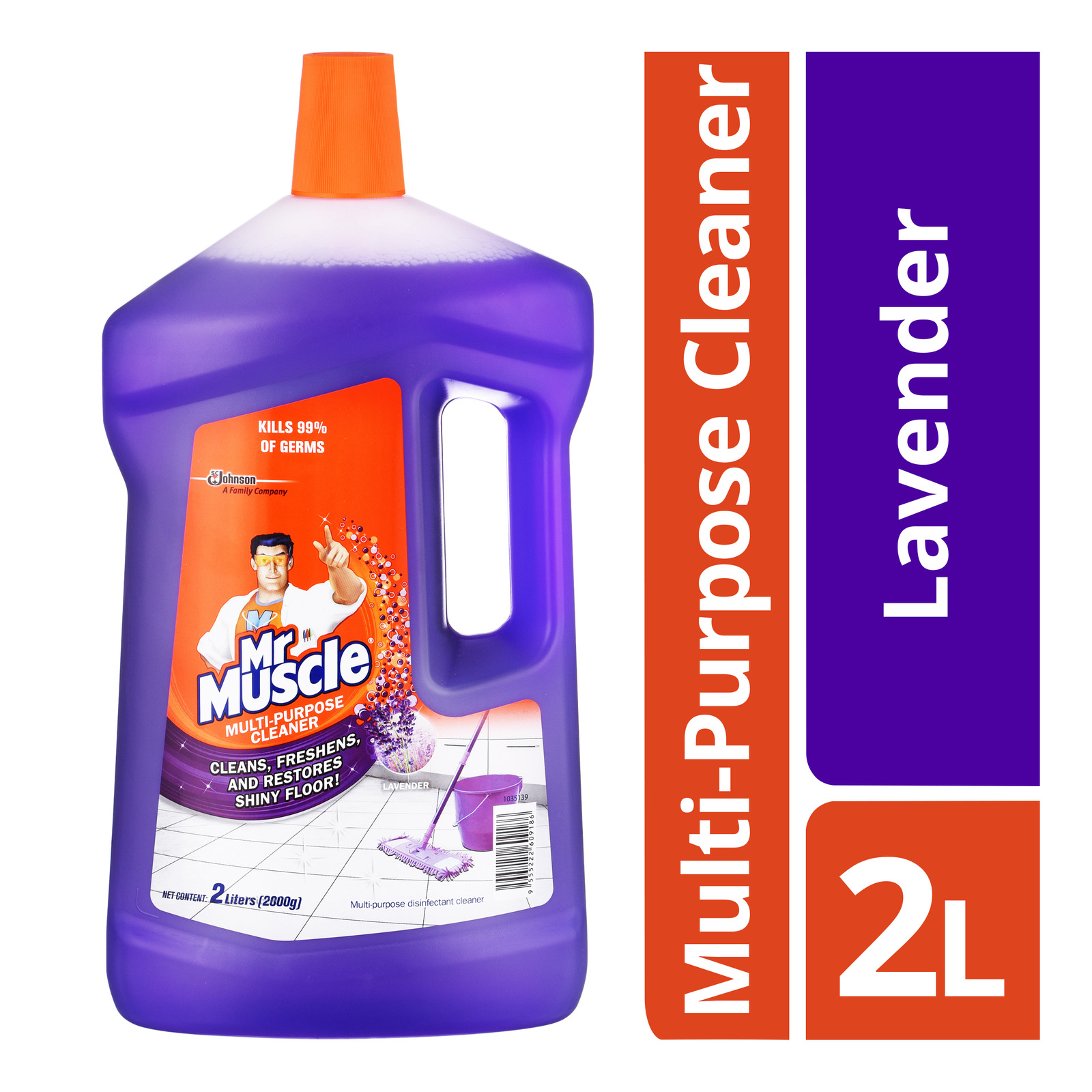 Mr Muscle 5 in 1 Multi-Purpose Cleaner - Lavender
