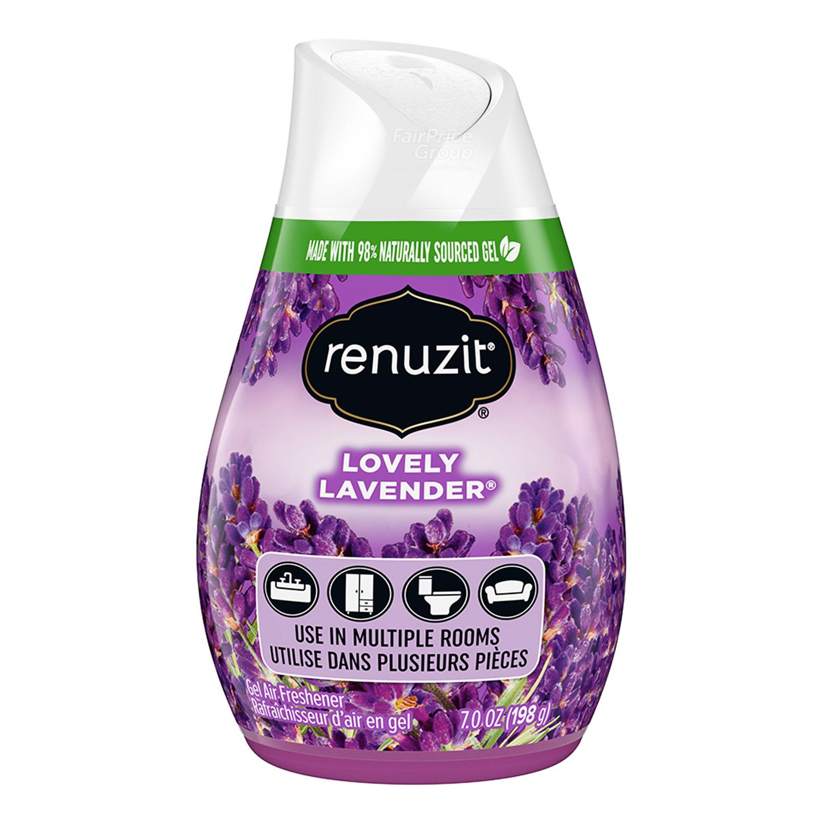 Renuzit Gel Air Freshener - Lovely Lavender