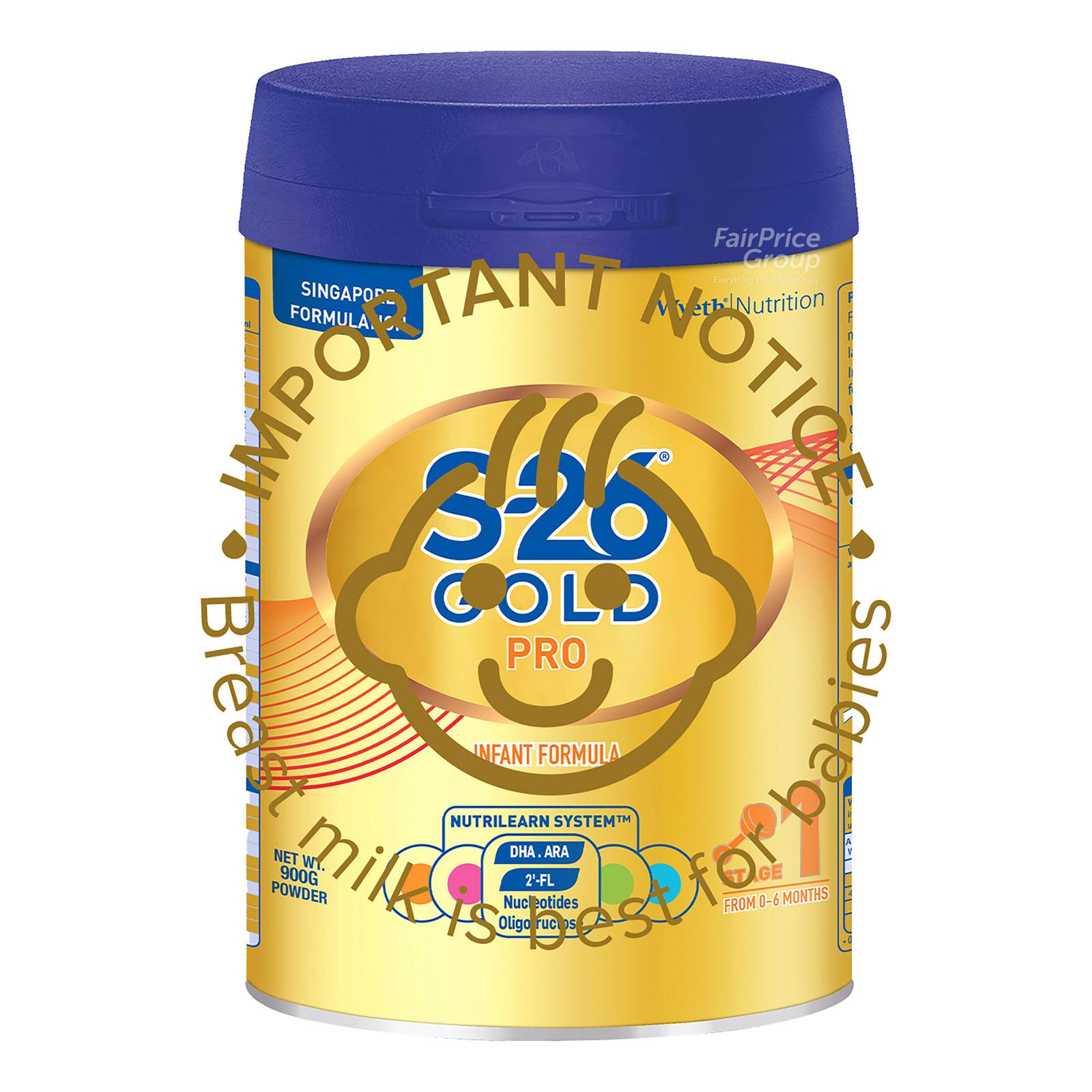 Wyeth S26 Gold Pro Infant Milk Formula - Step 1