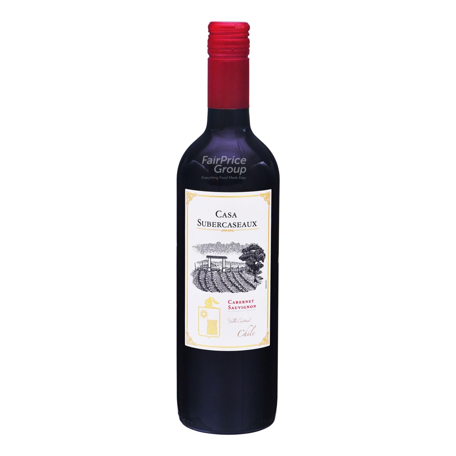 Casa Subercaseaux Red Wine - Cabernet Sauvignon