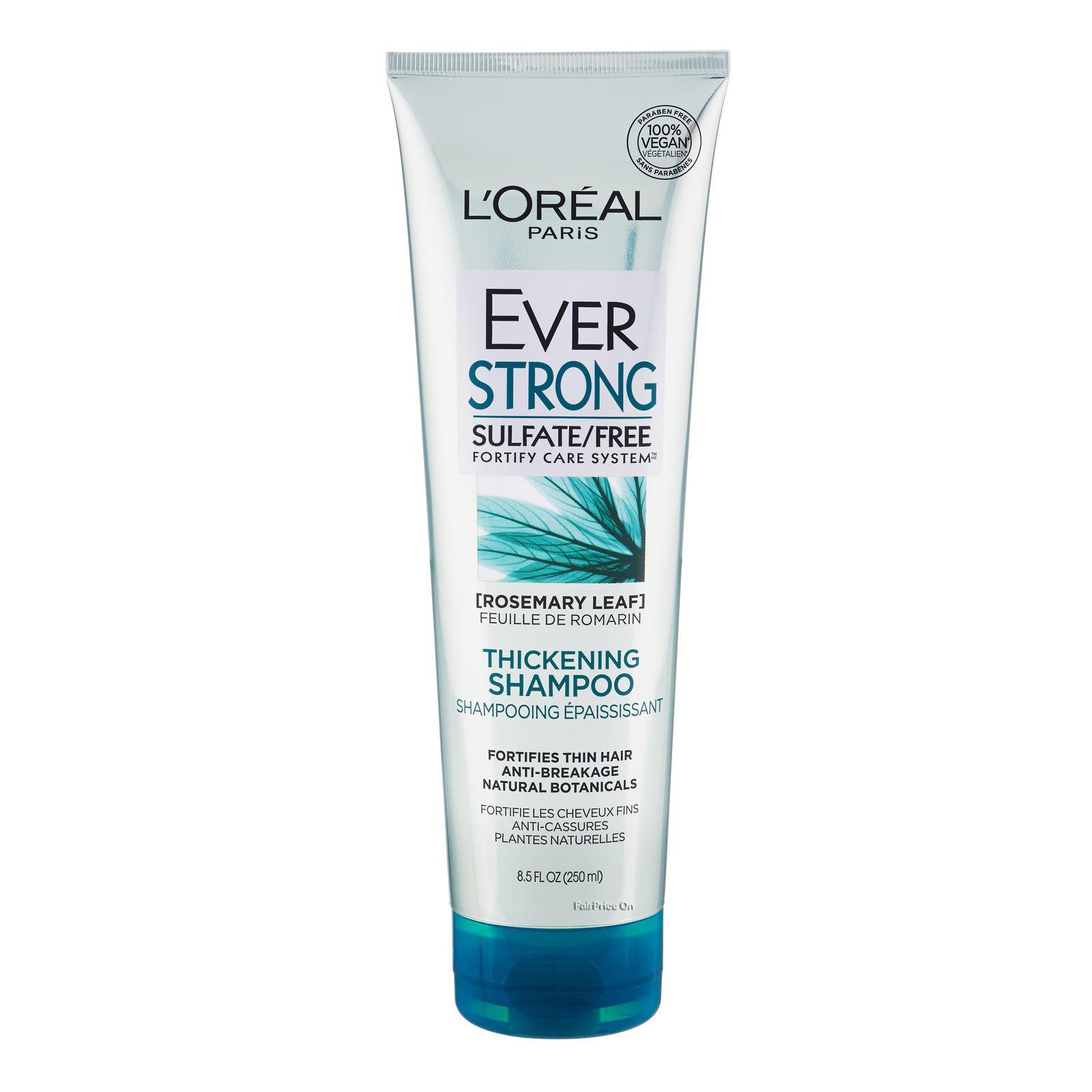 LOREAL PARIS HAIR EXPERT  hair expertise everstrong thickening shampoo
