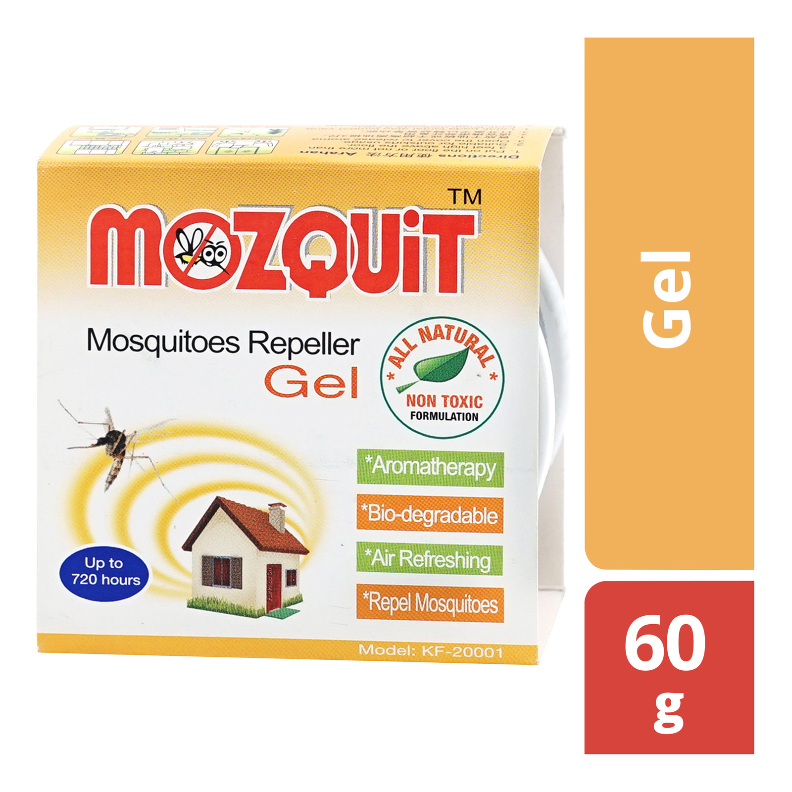 MOZQUIT Mosquitoes Repeller Gel 60g