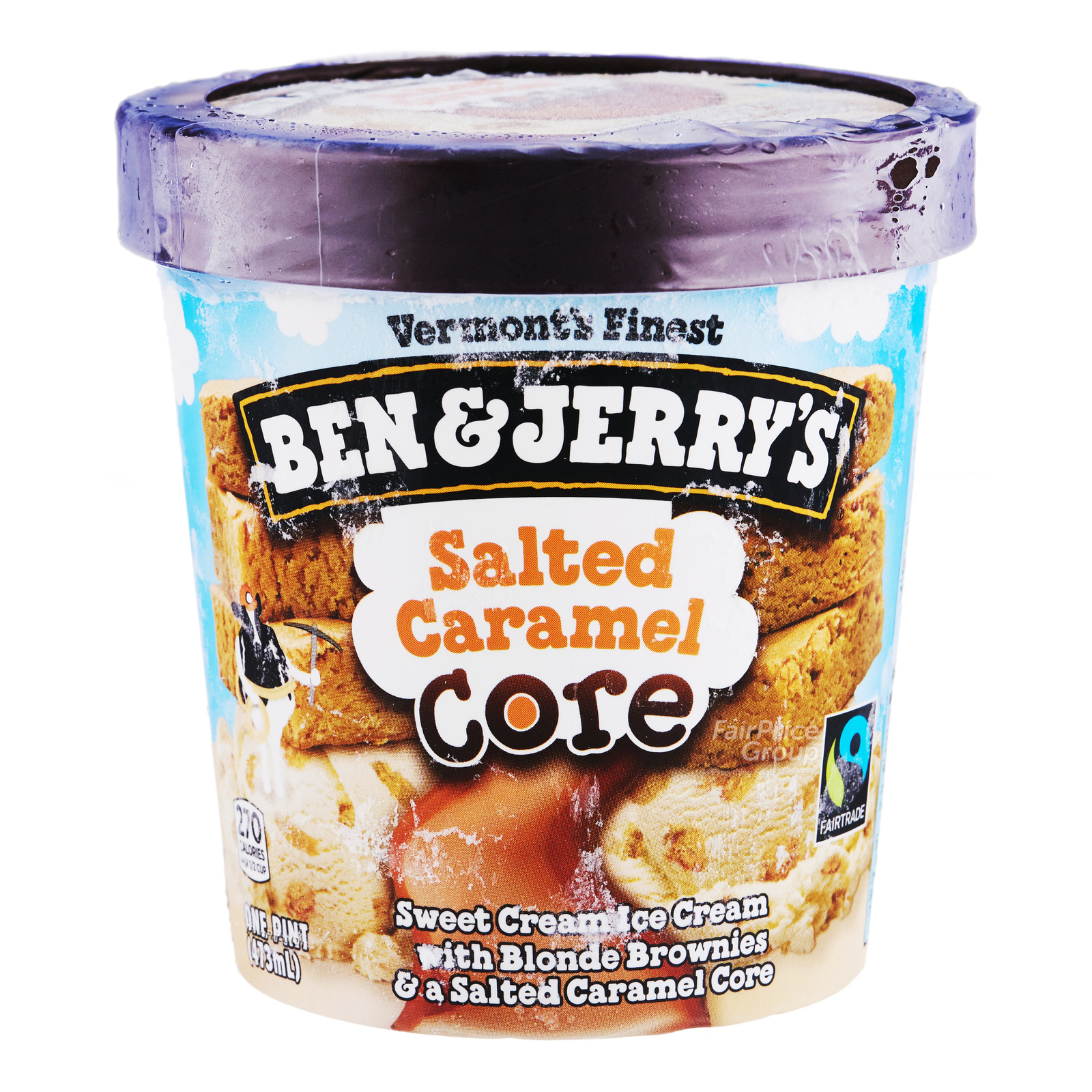 Ben & Jerry's Ice Cream - Salted Caramel Core