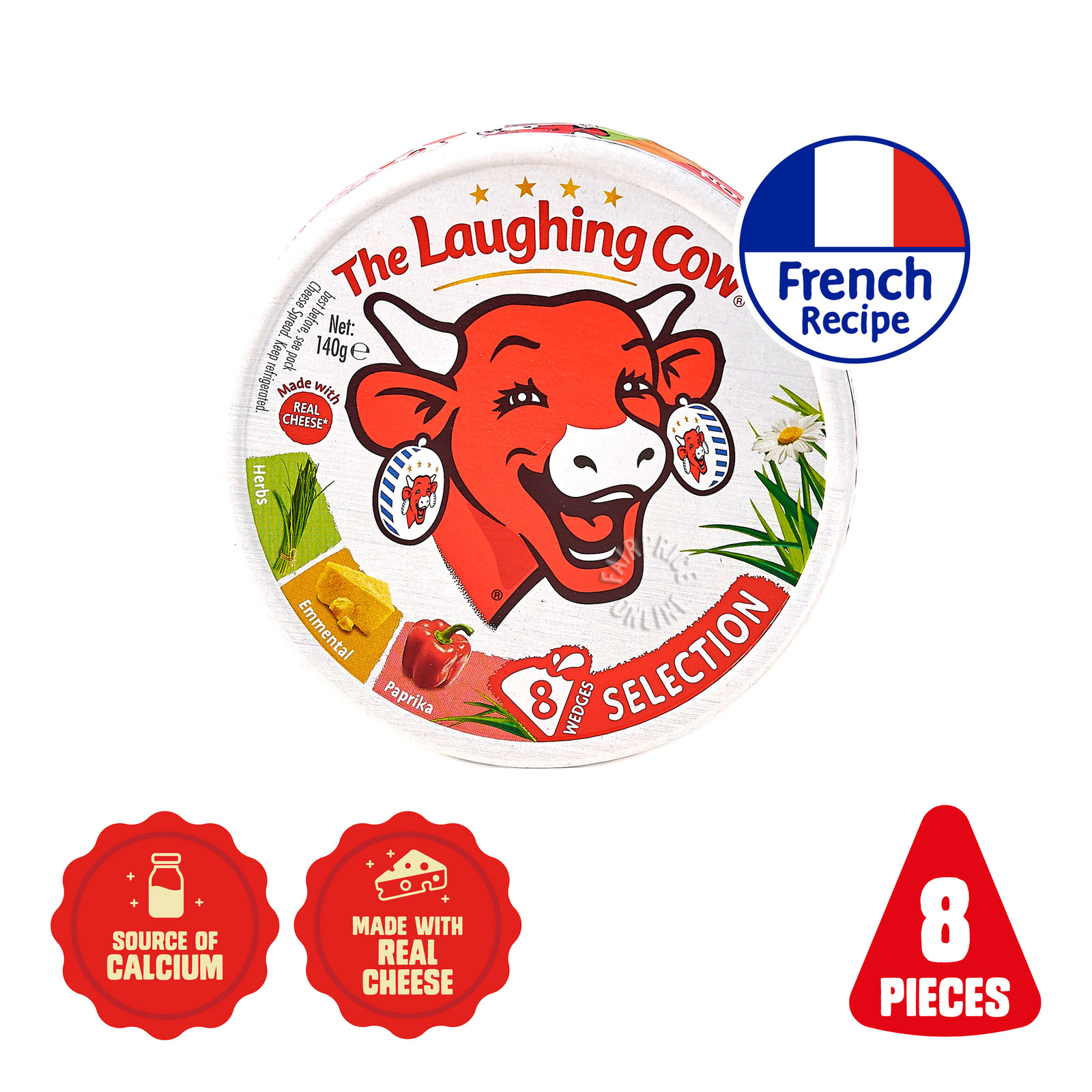 The Laughing Cow Cheese Spread - Selection (3 Varieties)