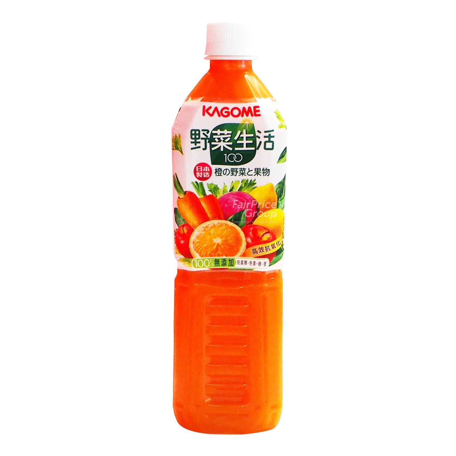 Kagome Bottle Juice - Mixed Fruits & Vegetables