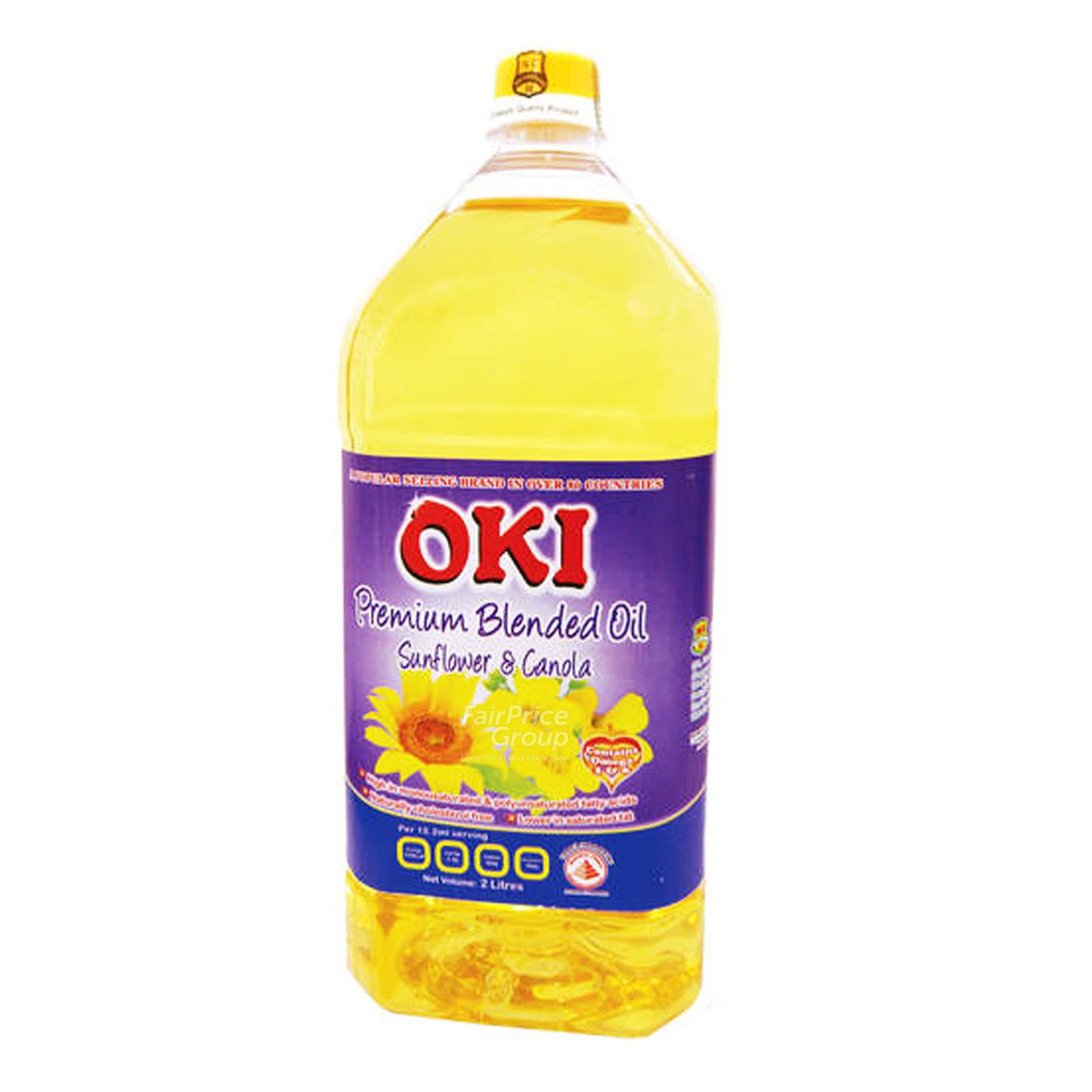 Oki Premium Sunflower & Canola Blended Oil