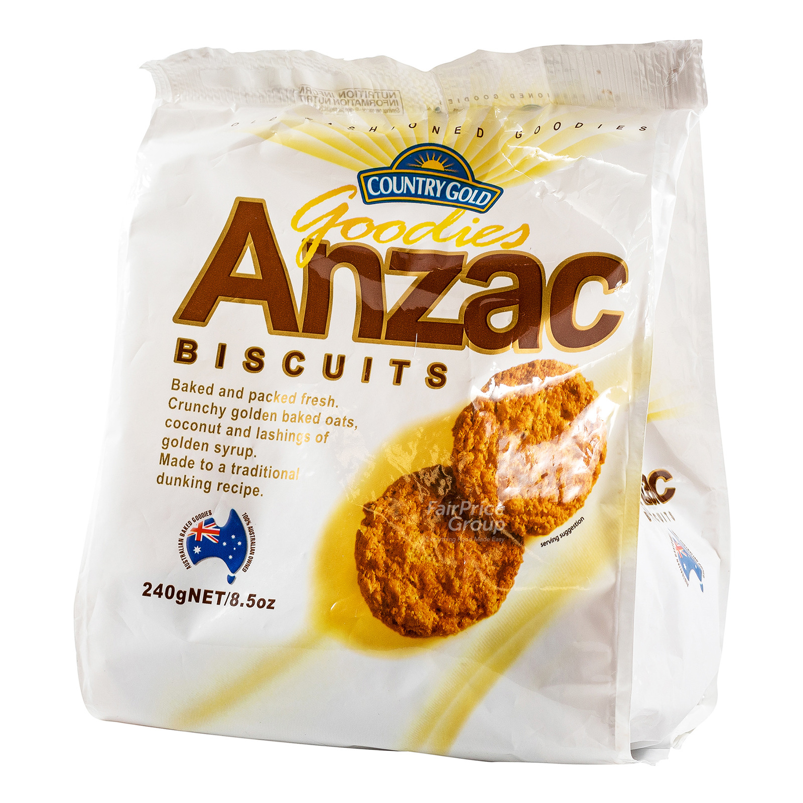 Country Gold Goodies Biscuits - Anzac
