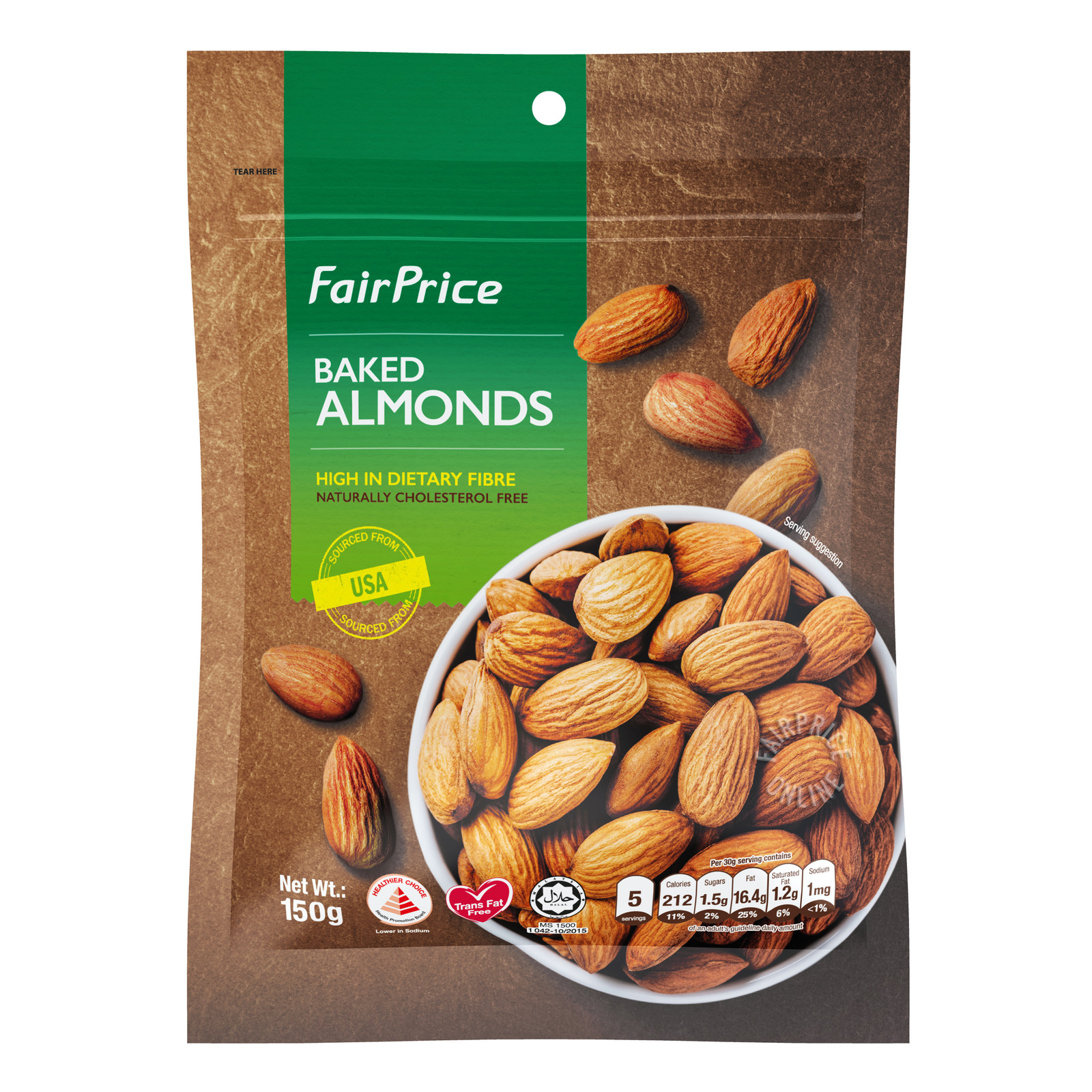 FairPrice Baked Almonds