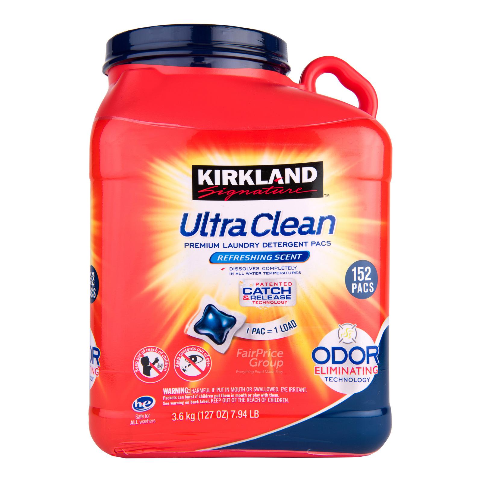 Kirkland Signature Premium Laundry Detergent Pacs Ultra