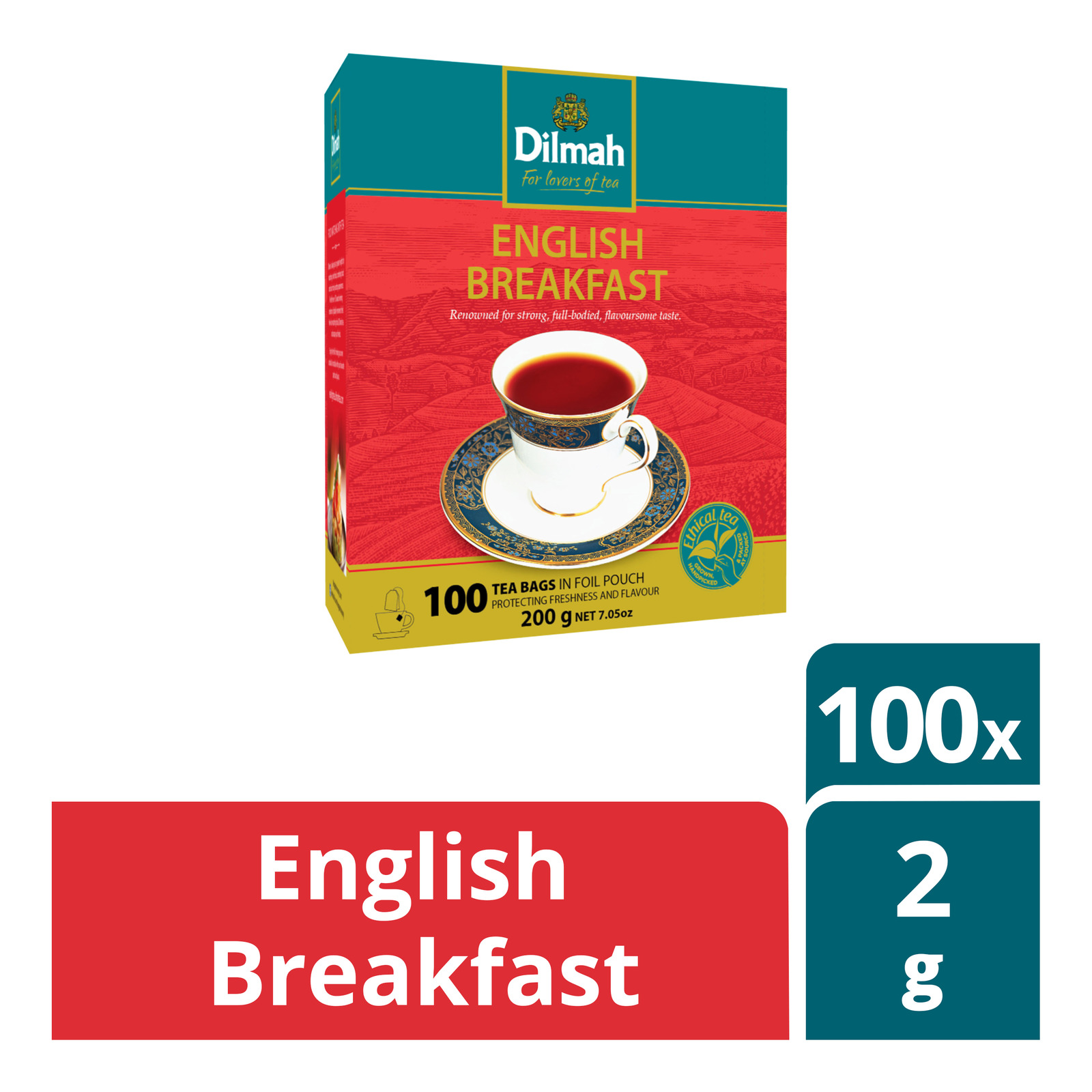 Dilmah Pure Ceylon Tea Bags - English Breakfast