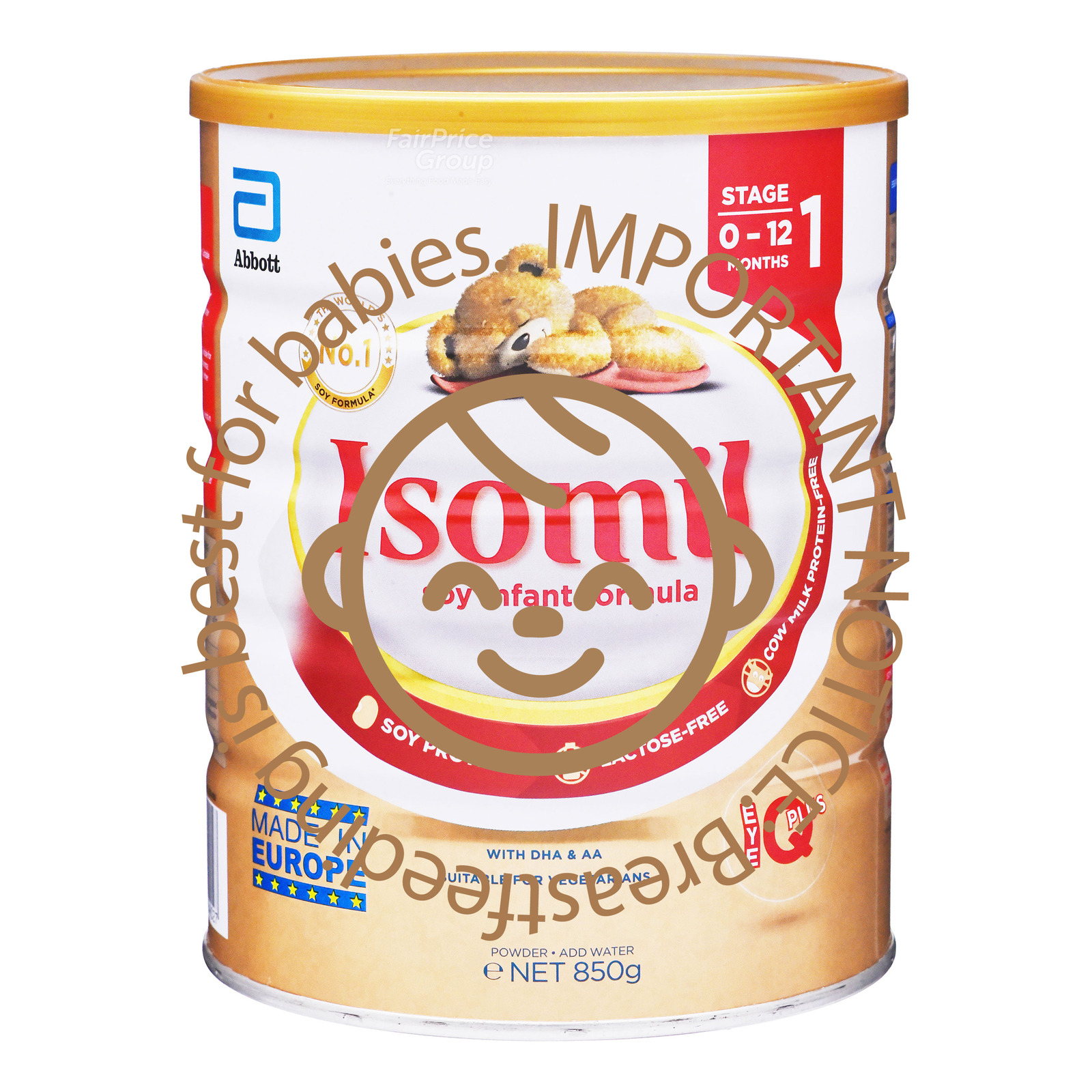 Abbott Isomil Soy Infant Formula - Stage 1
