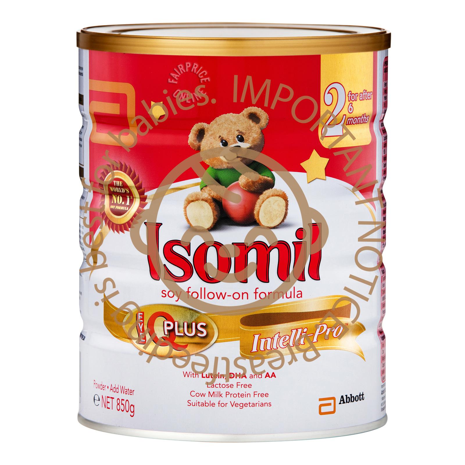 Abbott Isomil Follow On Soy Milk Formula - Step 2