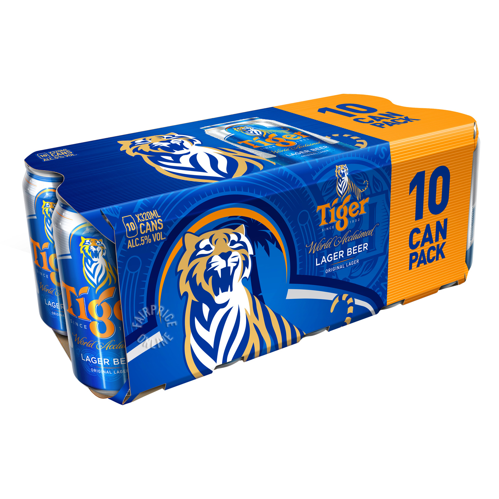 Tiger Can Beer - Lager