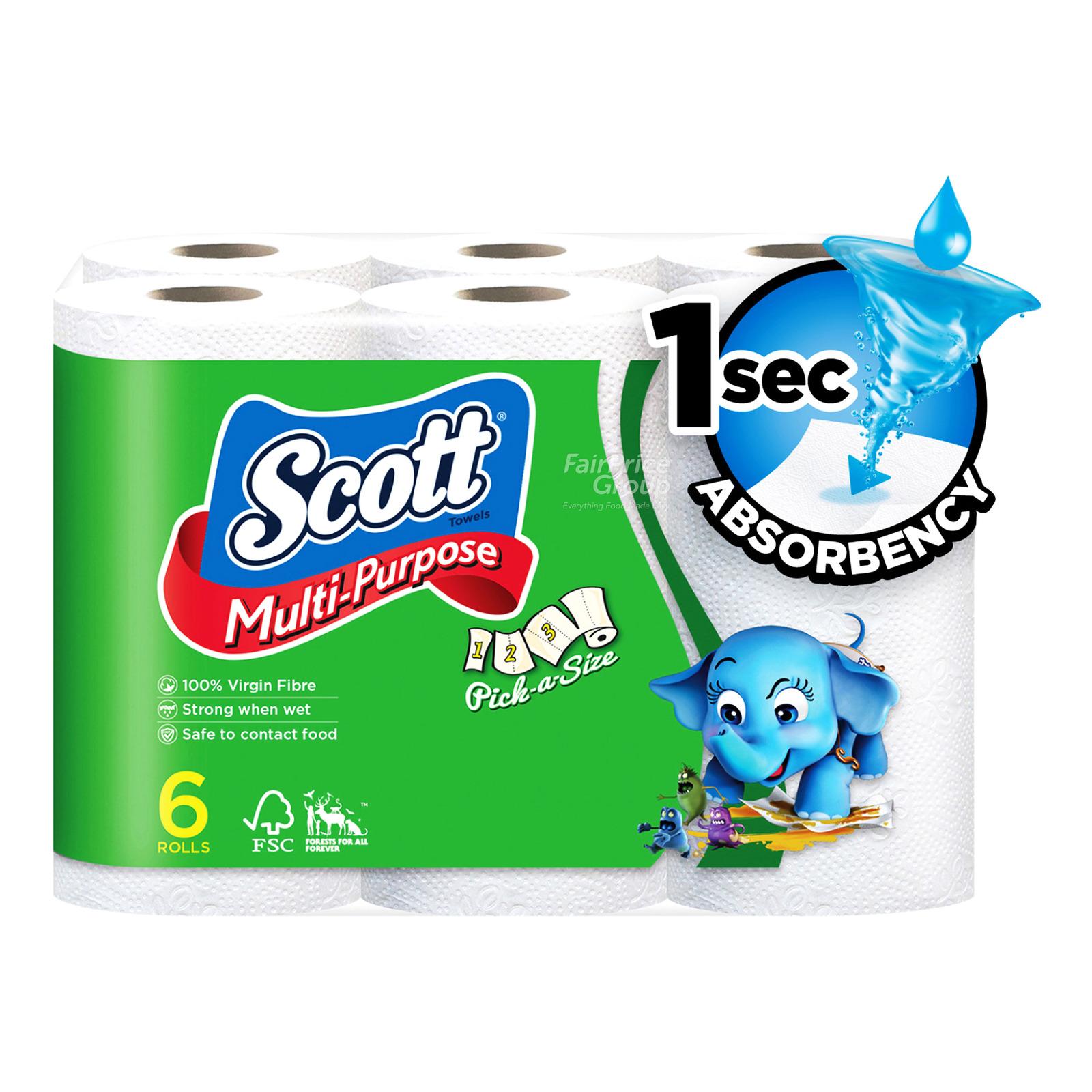 Scott Kitchen Towel Rolls - Pick A Size