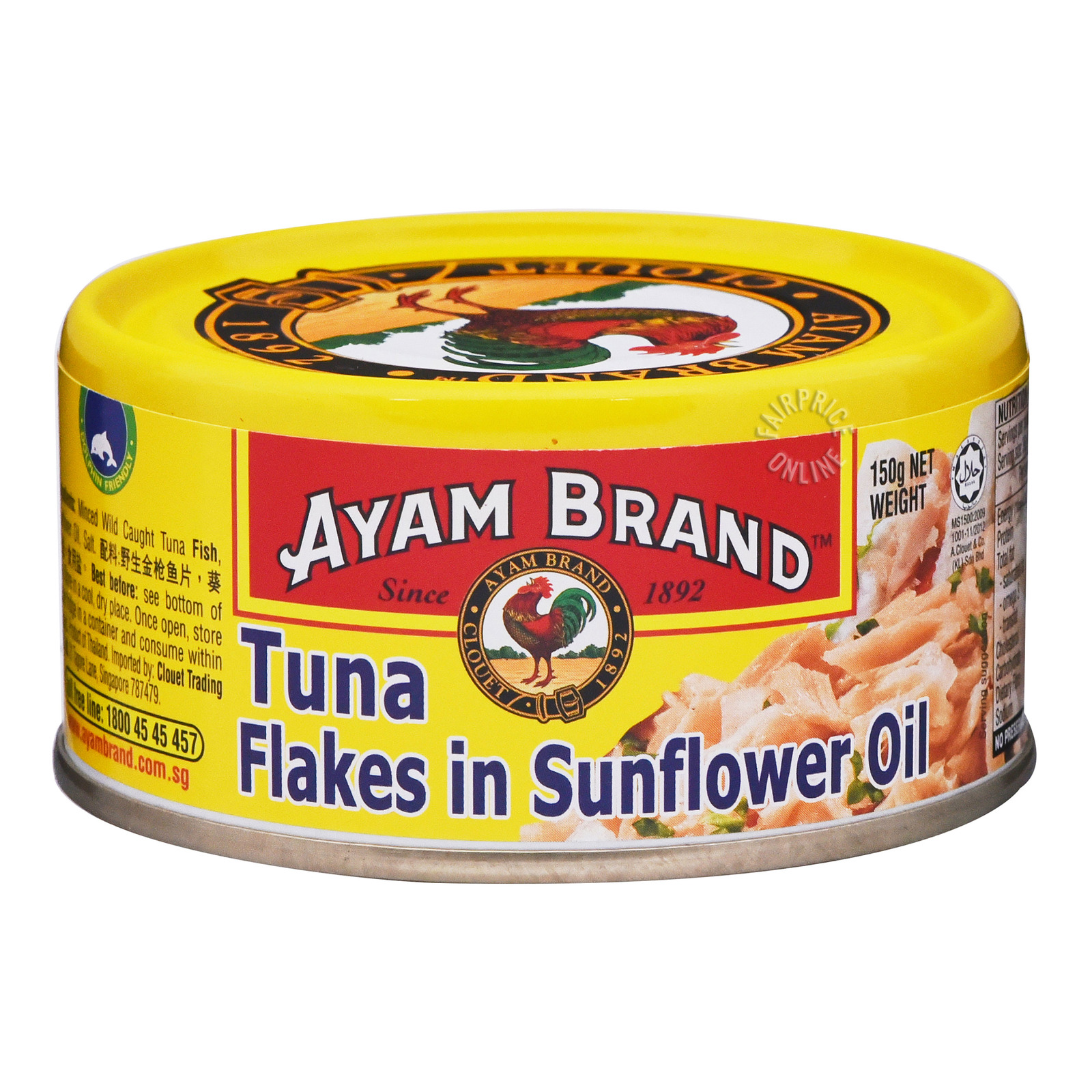 Ayam Brand Tuna Flakes - Sunflower Oil