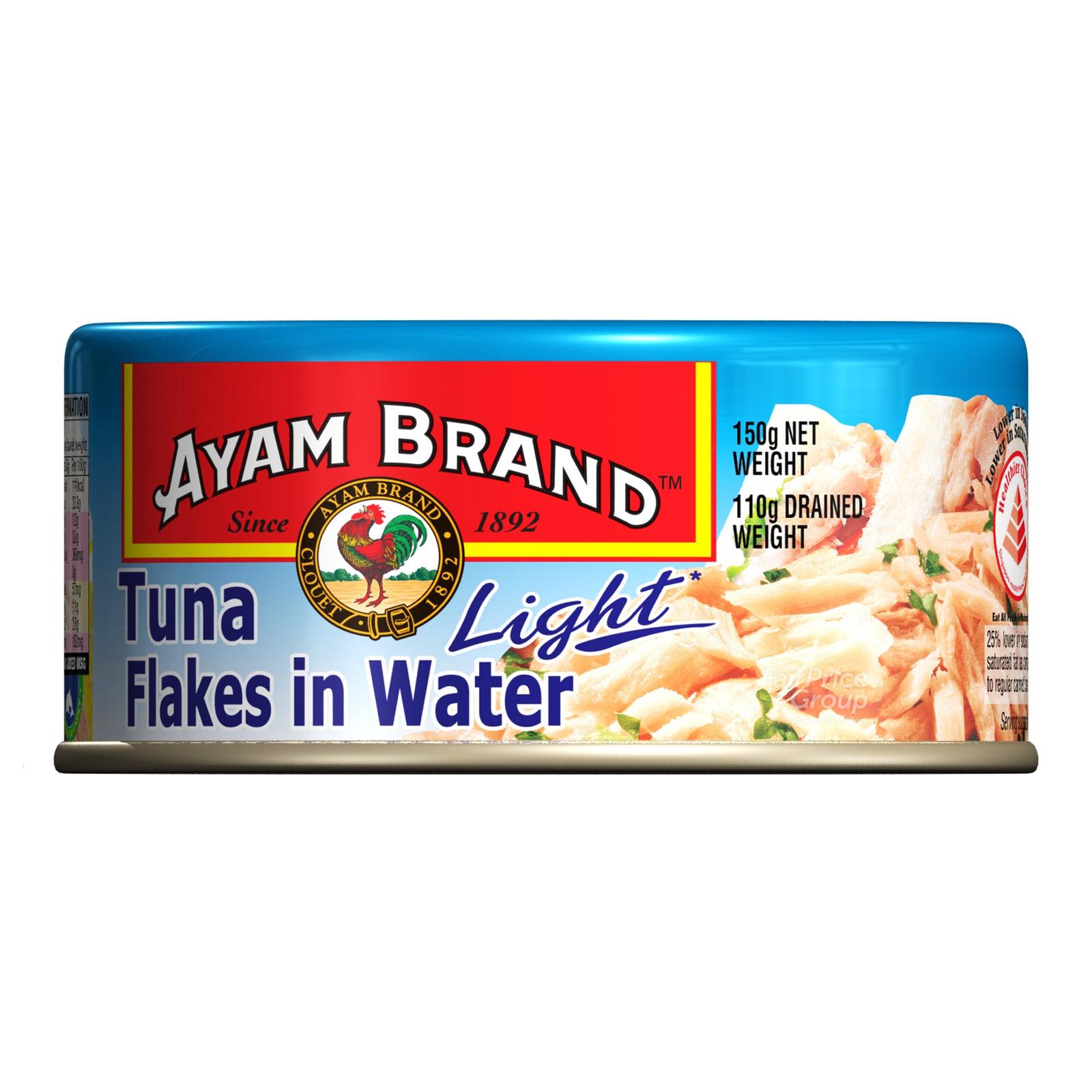 Ayam Brand Tuna Flakes - Water (Light)