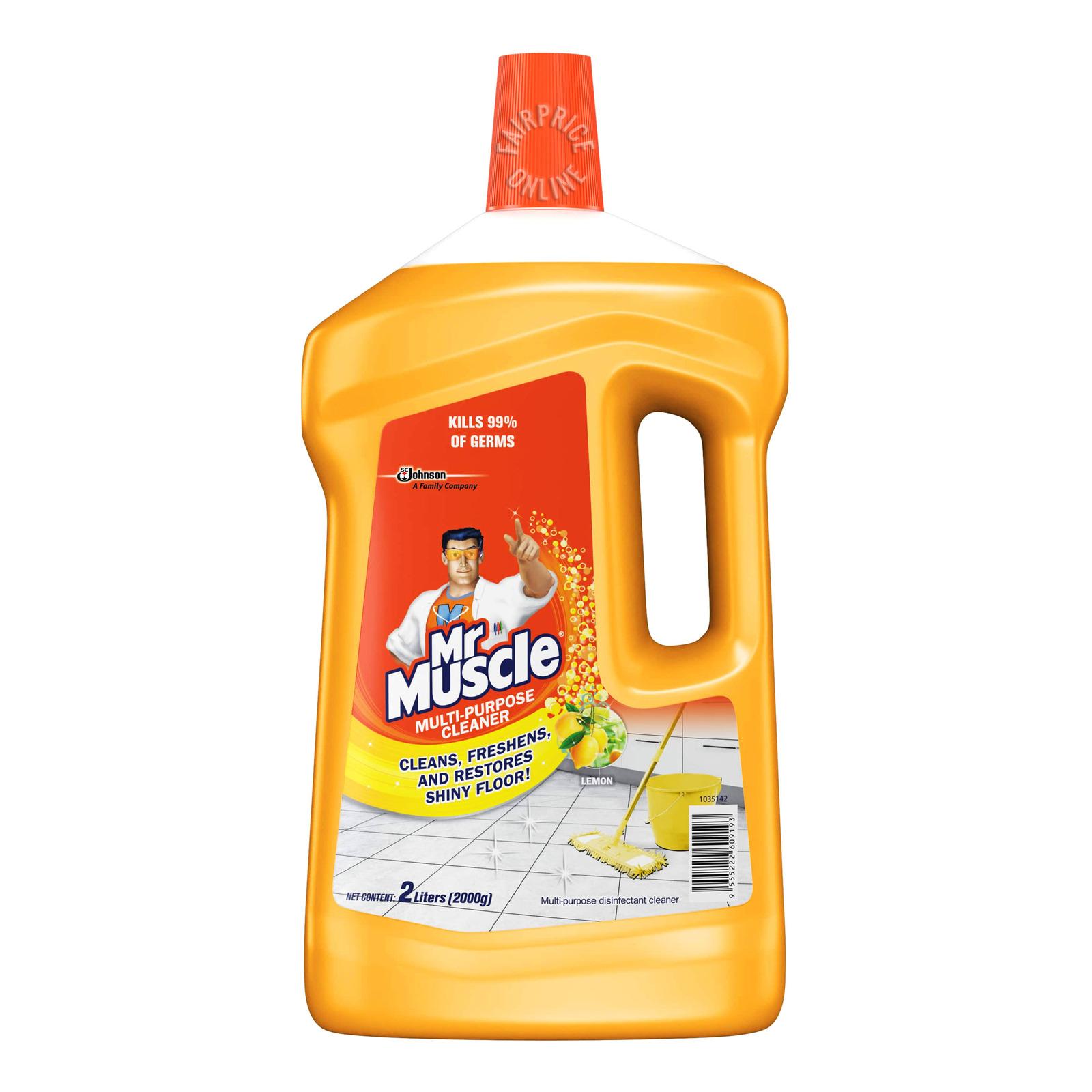 Mr Muscle 5 in 1 Multi-Purpose Cleaner - Lemon