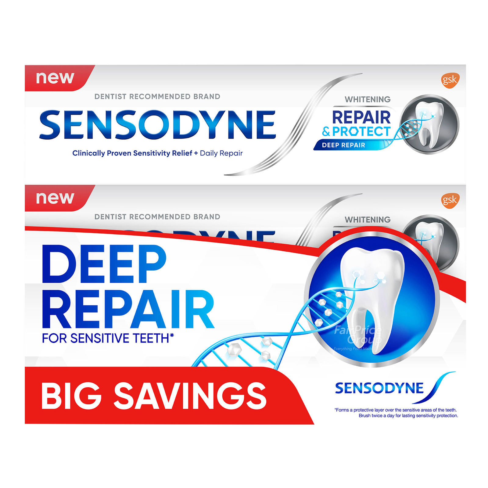Sensodyne Toothpaste - Repair & Protect (Whitening)