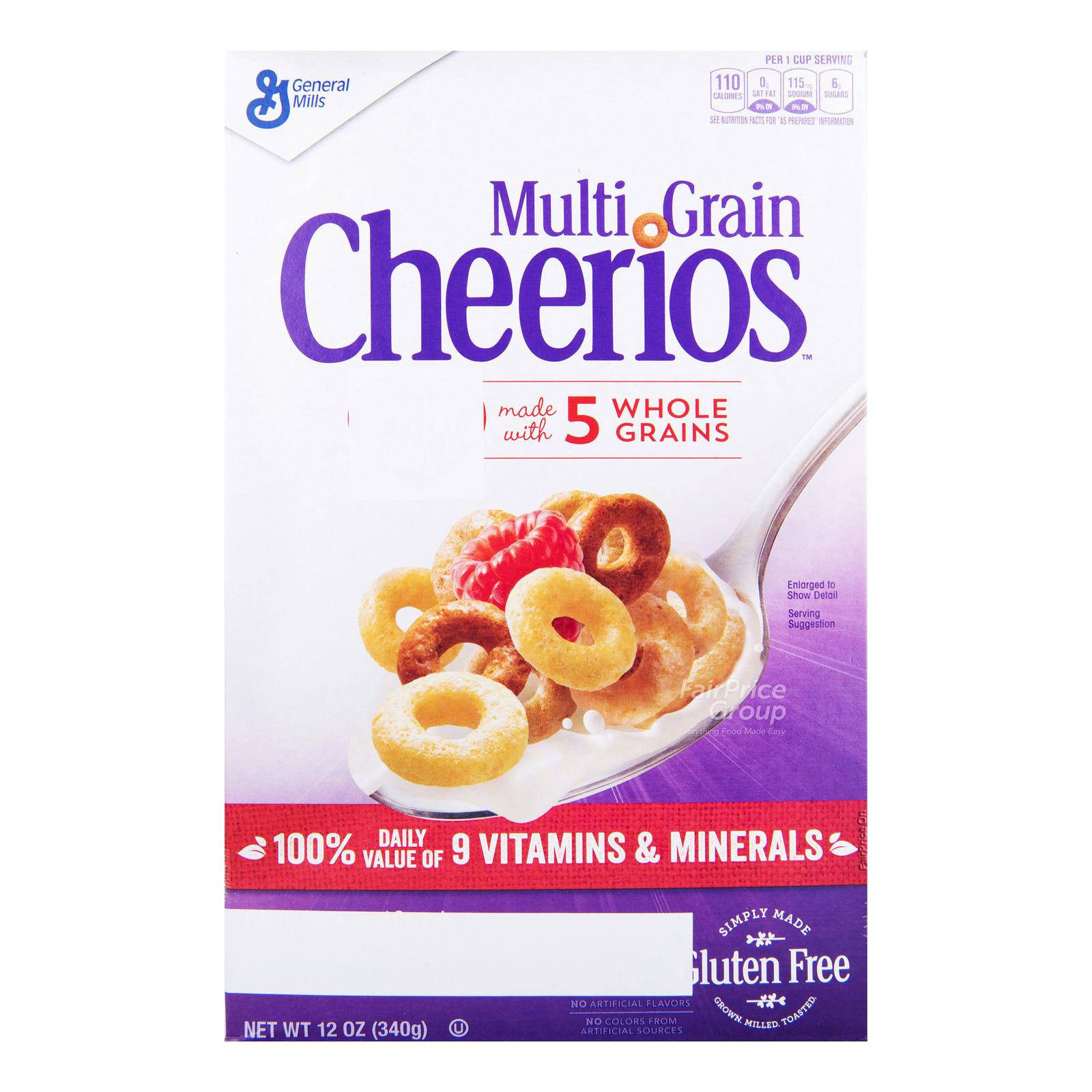 General Mills Cheerios Cereal - Multigrain