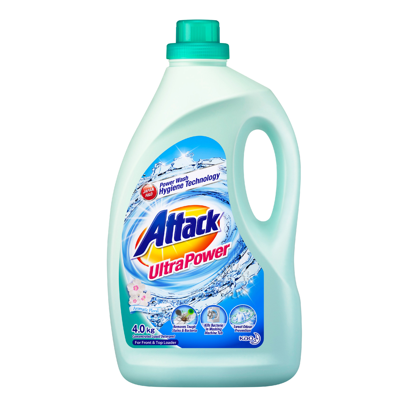Attack Liquid Detergent - Ultra Power (Aromatic Floral)