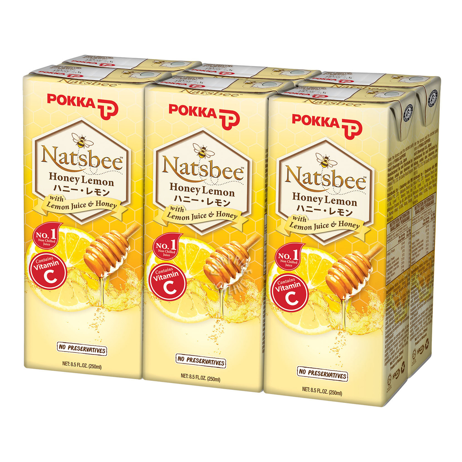Pokka Packet Drink - Natsubee Honey Lemon