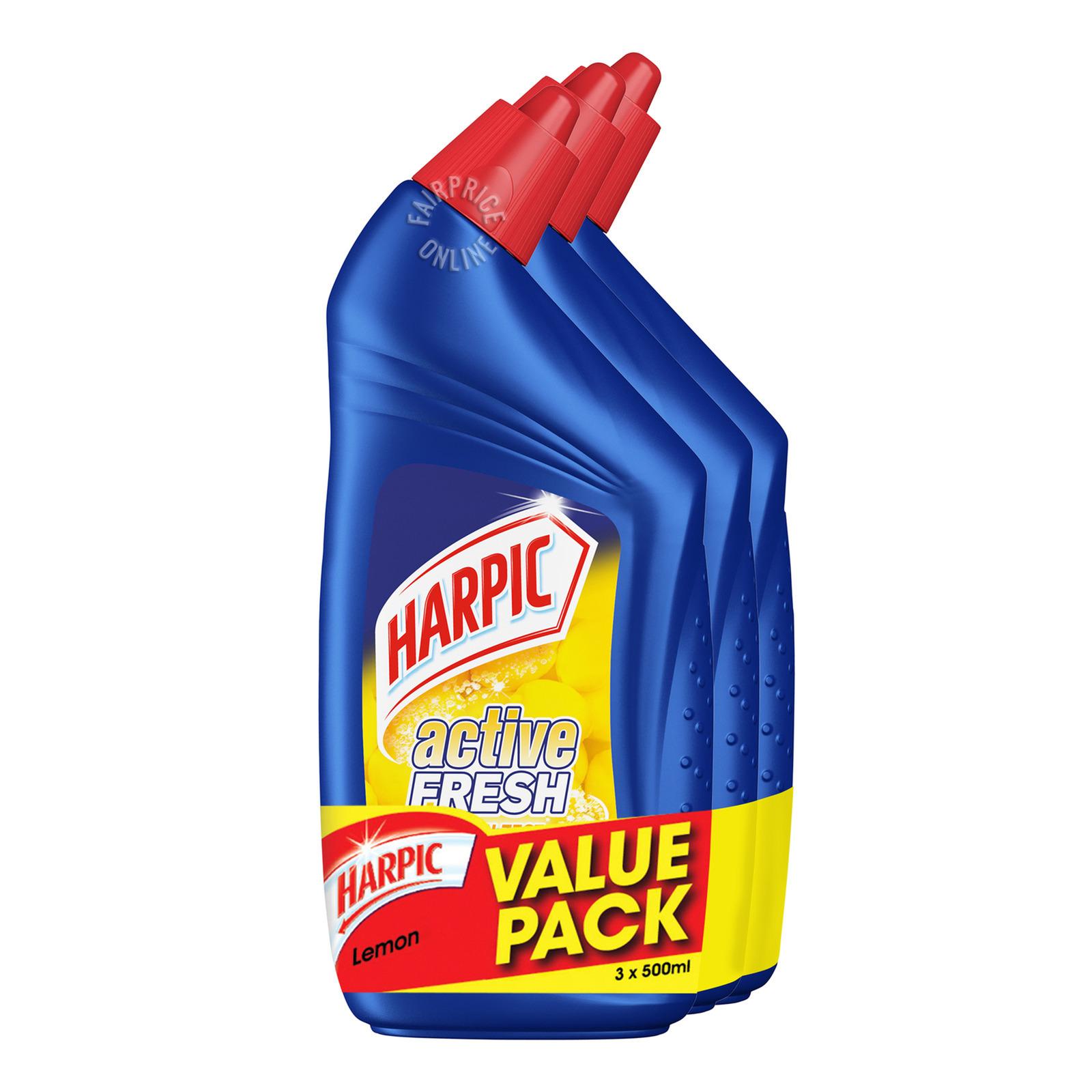 Harpic Toilet Cleaner Gel - Lemon Zest