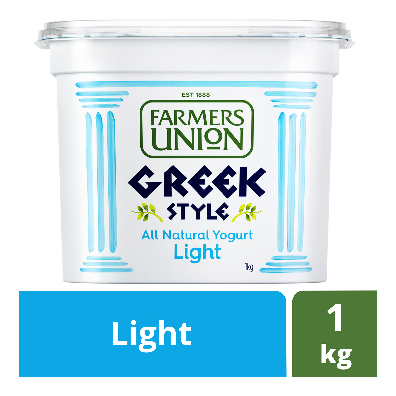 Farmers Union Greek Style Yoghurt - Light