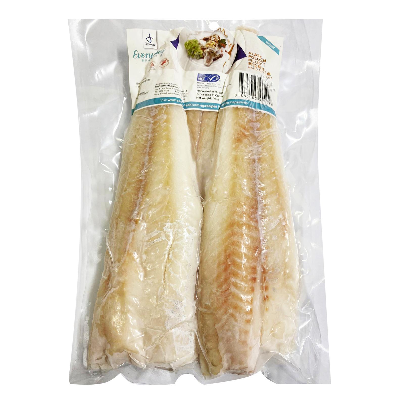 Seaco Frozen Fish Fillet - Alaskan Pollock