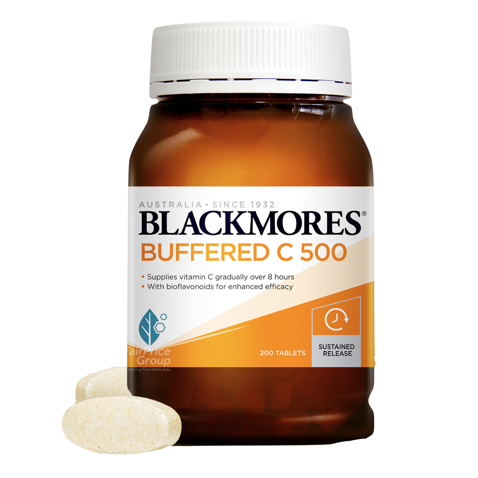 Blackmores Dietary Supplement Tablets - Buffered C