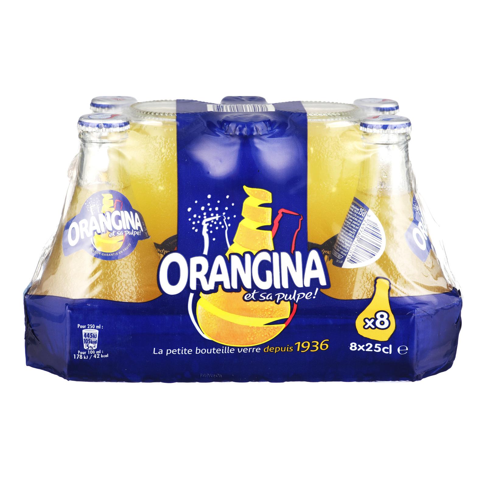 Orangina Sparkling Bottle Drink - Orange
