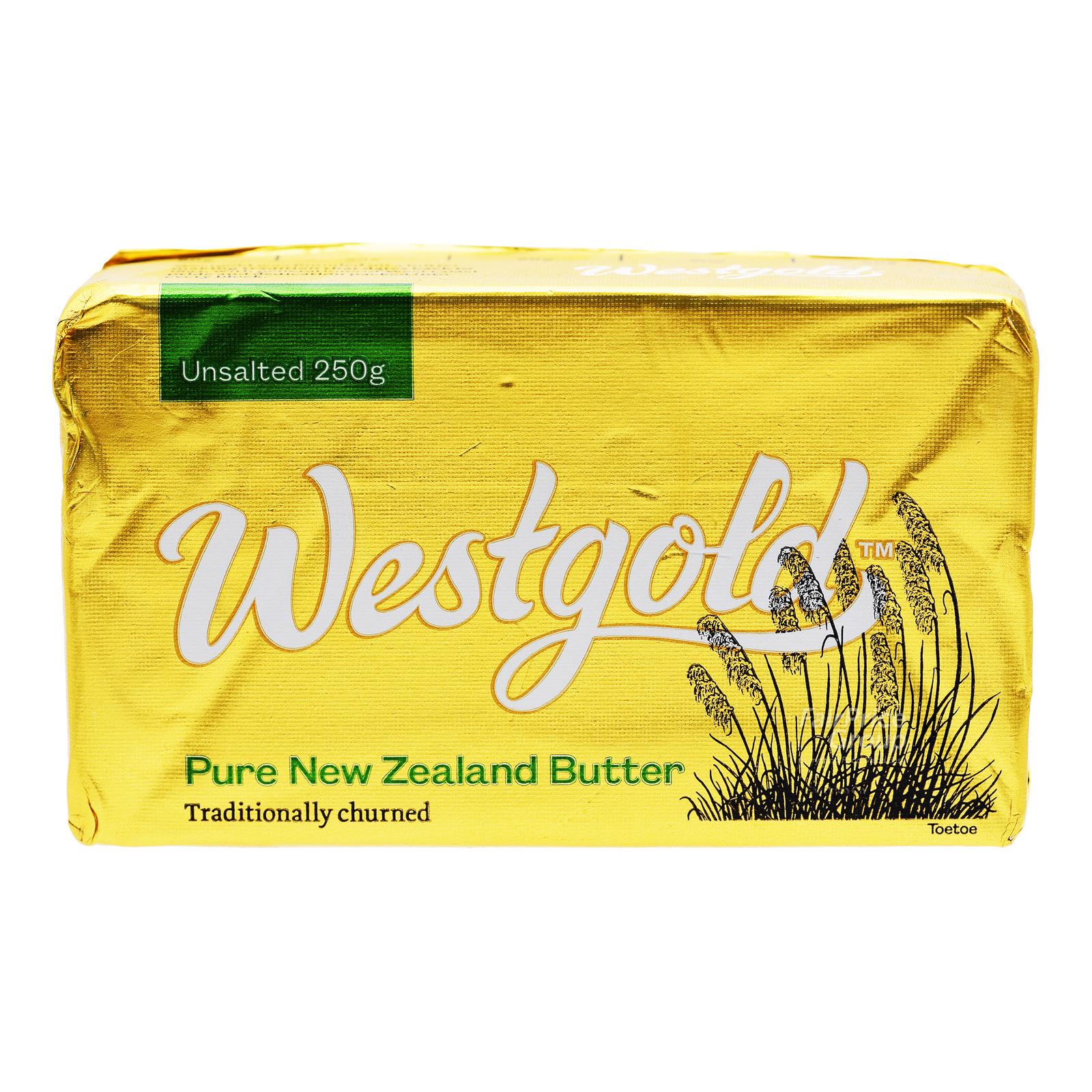 Westgold Block Butter - Unsalted