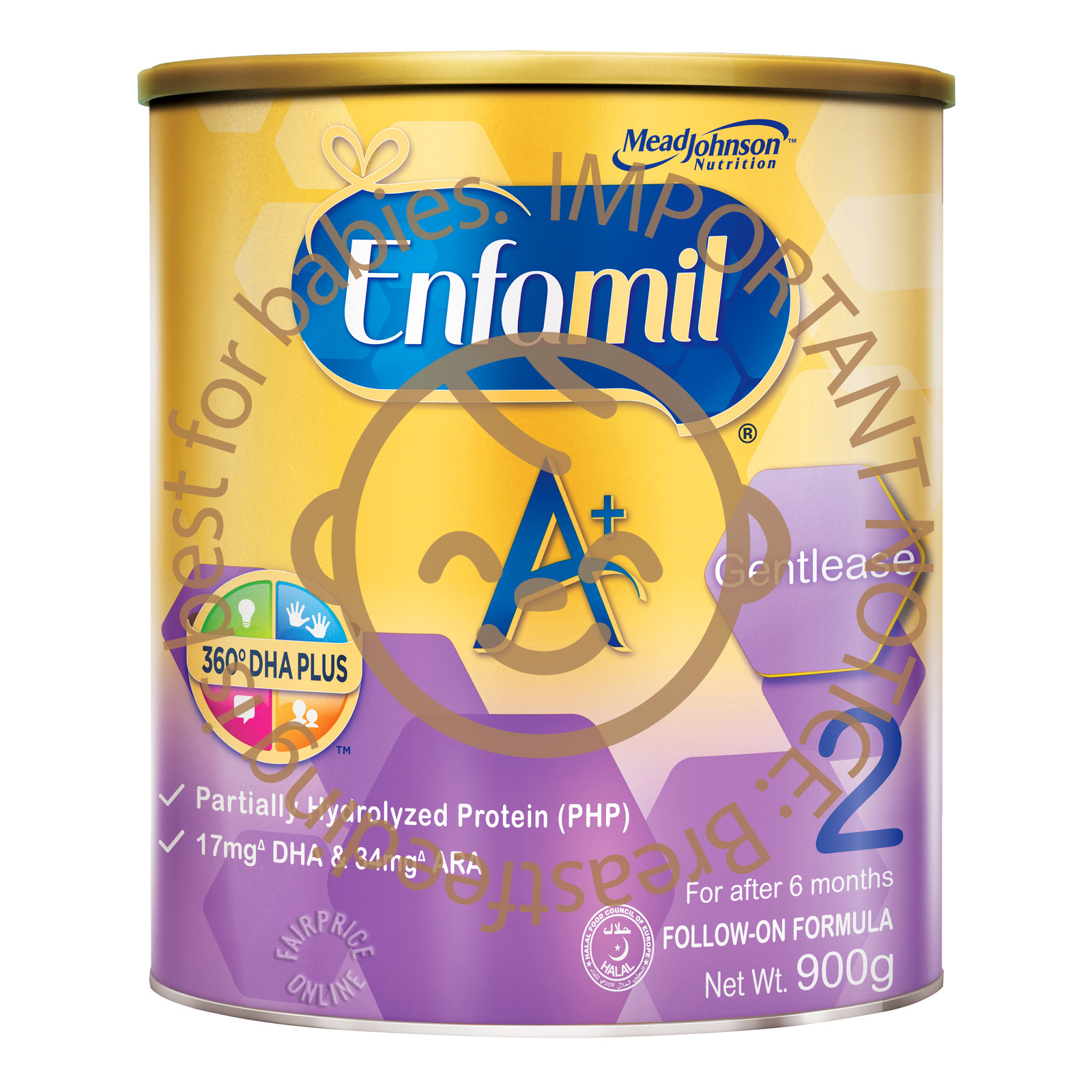 MEAD JOHNSON enfamil a infant formula baby milk powder stage 1 900g