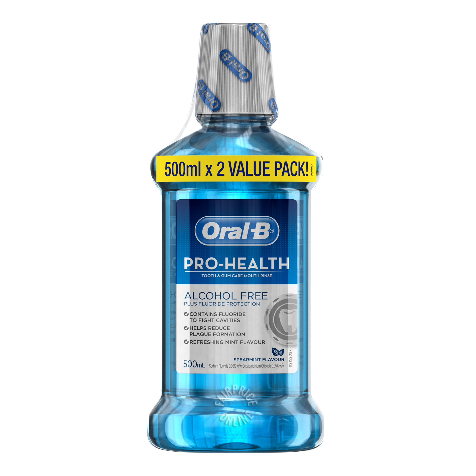 Oral-B Pro-Health Tooth & Gum Care Mouth Rinse - Spearmint
