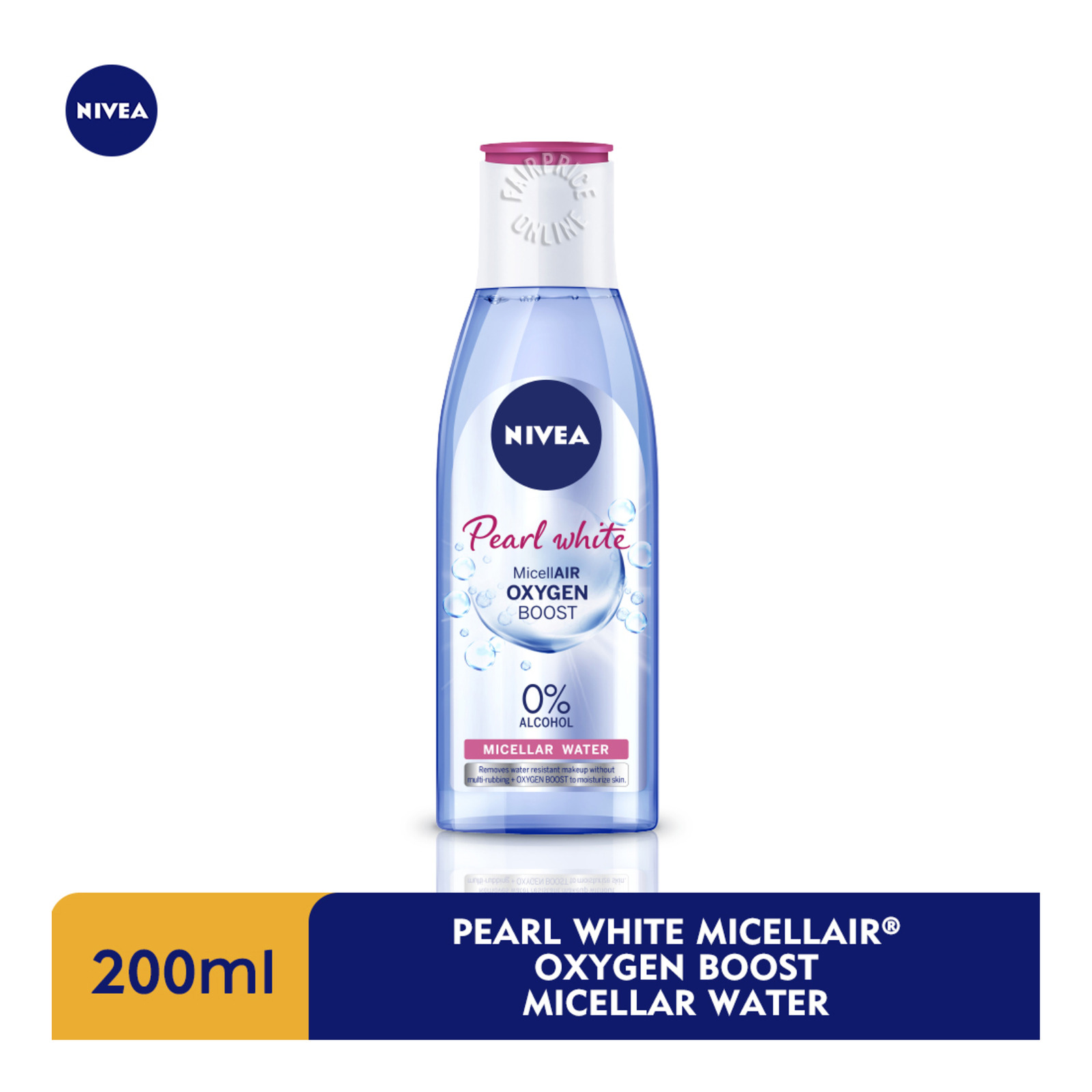 Nivea Micellar Water Make Up Clear - Extra White