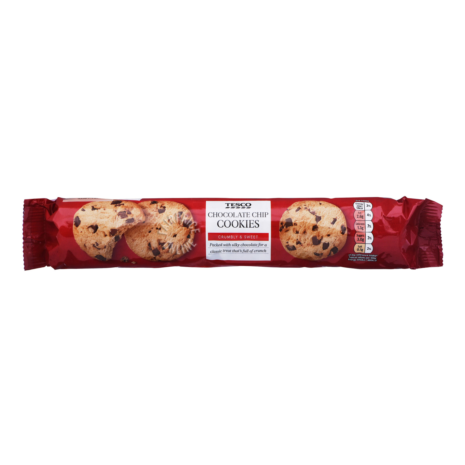 Tesco Cookies - Chocolate Chip