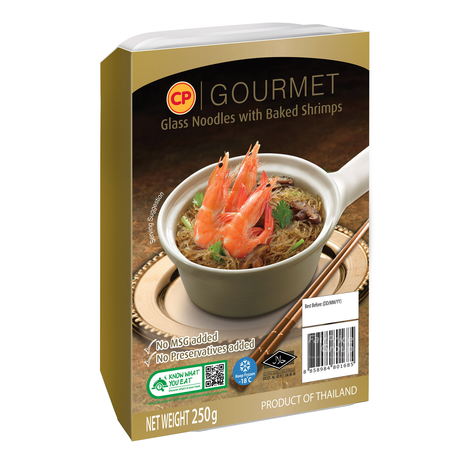 CP Gourmet Ready Meal - Glass Noodles with Baked Shrimps