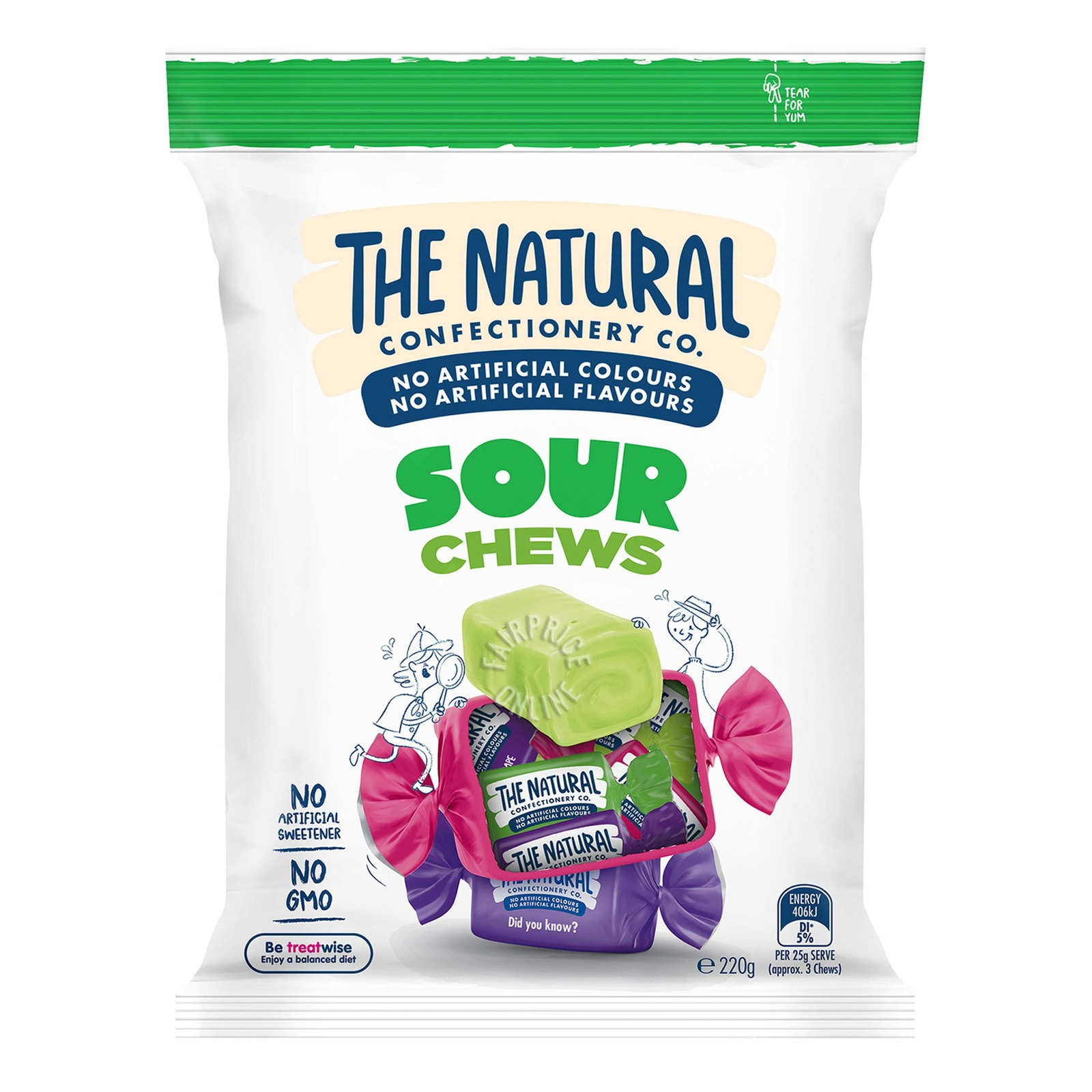 TNCC Chews Candies - Sour