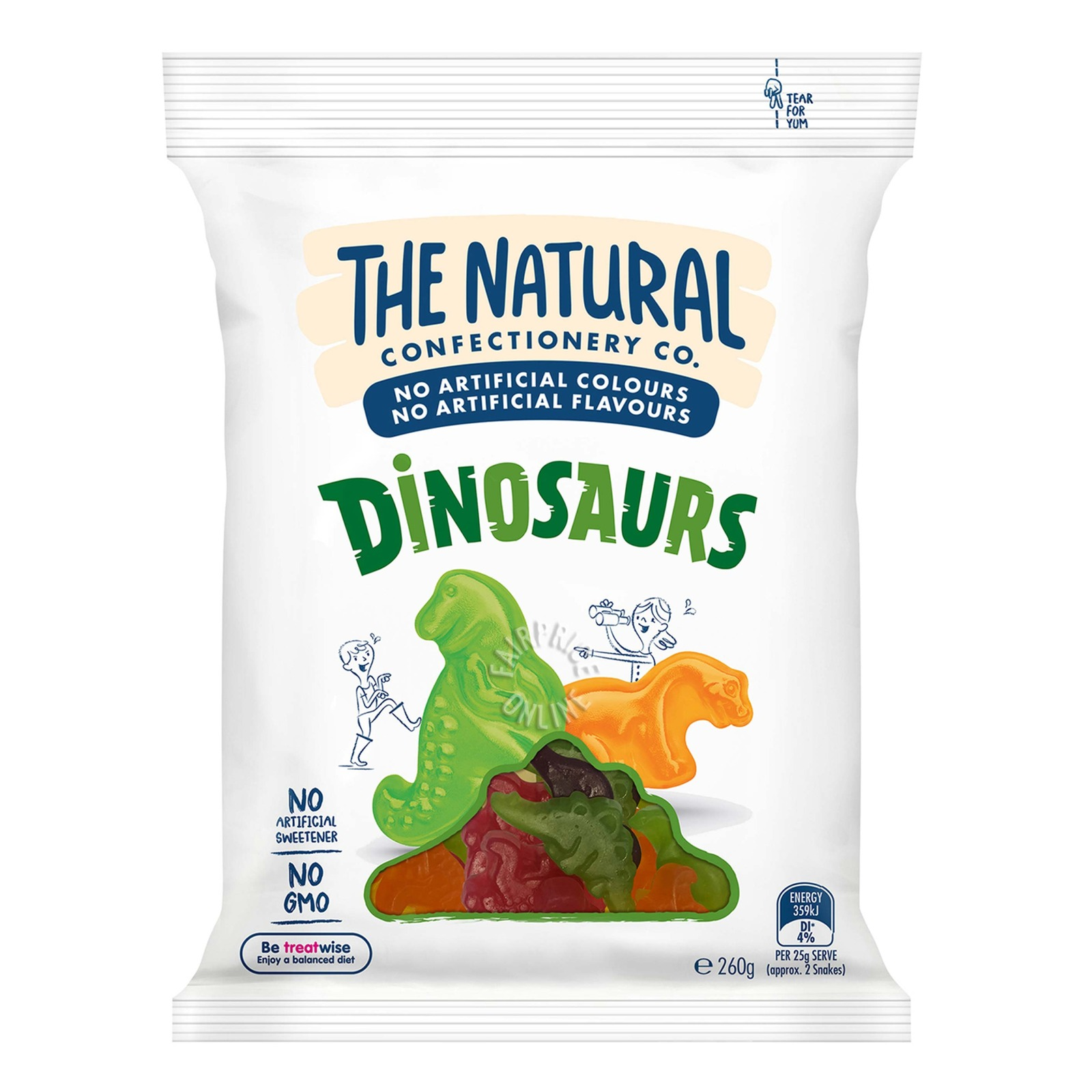 TNCC Fruity Gummies - Dinosaurs