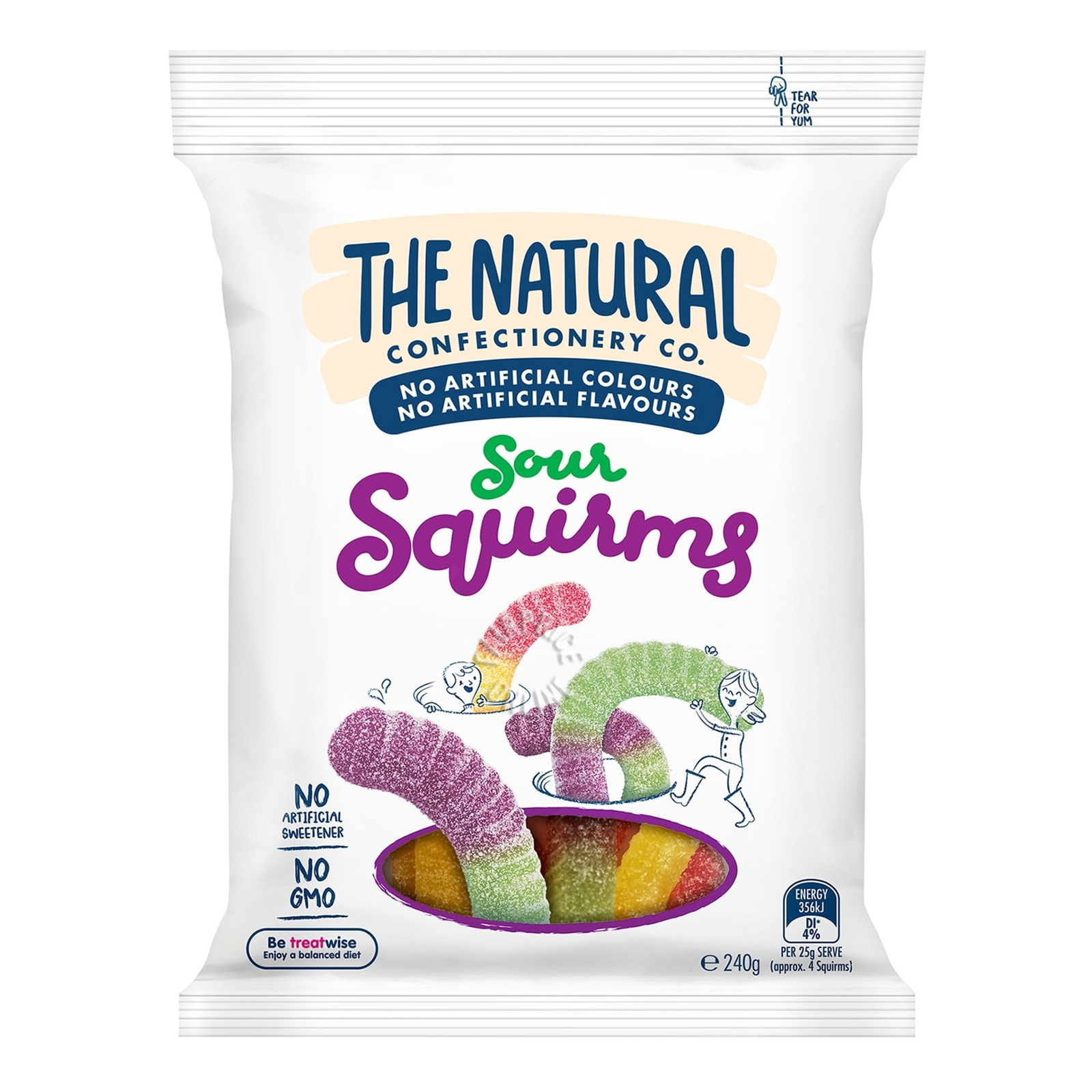 TNCC Fruity Gummies - Sour Squirms