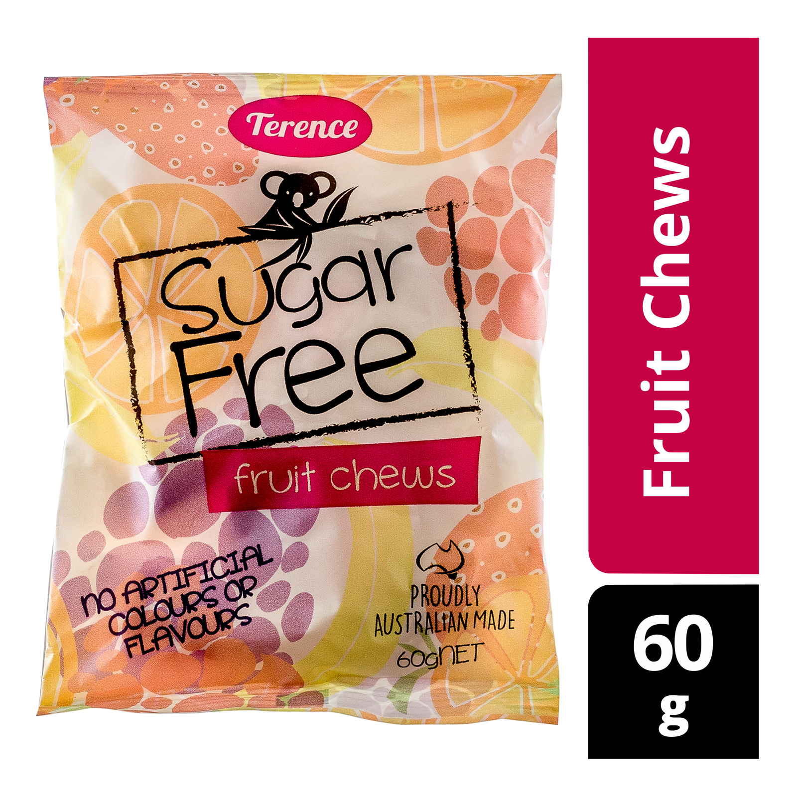 Terence Sugar Free Candy - Fruit Chews