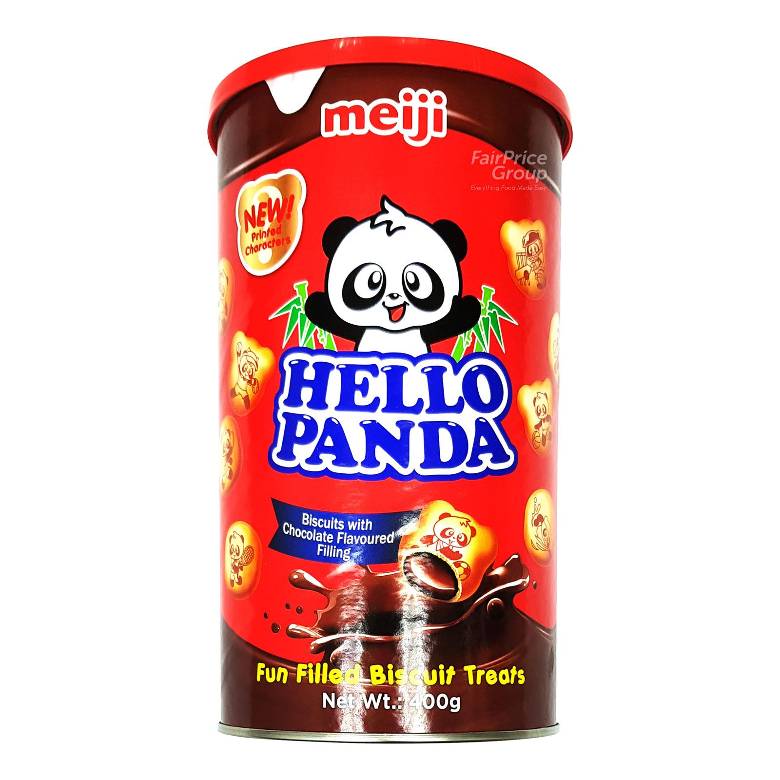 Meiji Hello Panda Biscuits - Chocolate